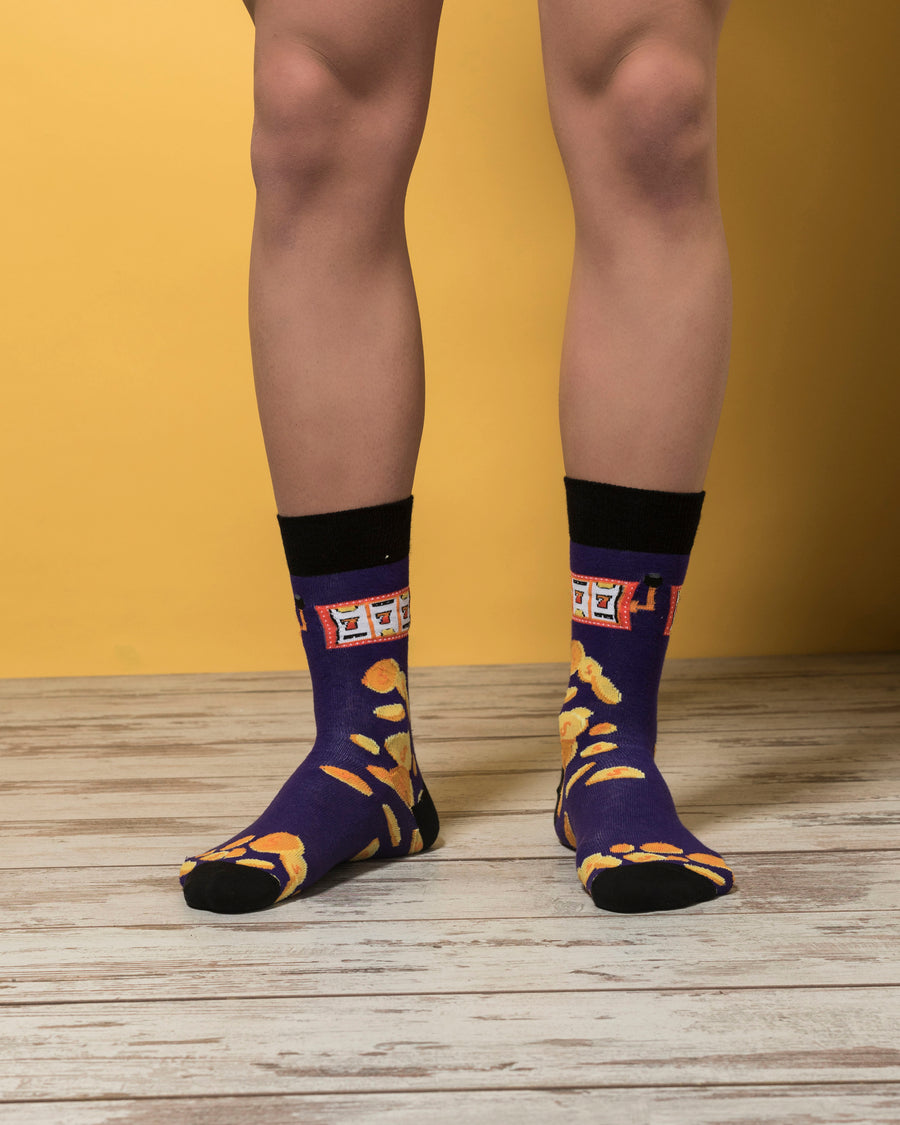 Men's Slot Machine Socks