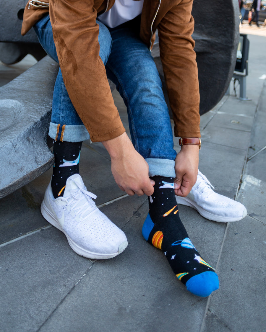 Men's Space Socks