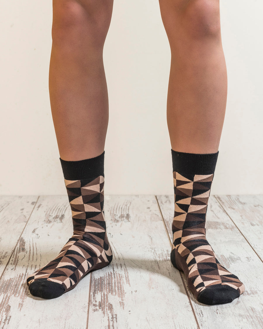Men's Mocha Mix Set Socks