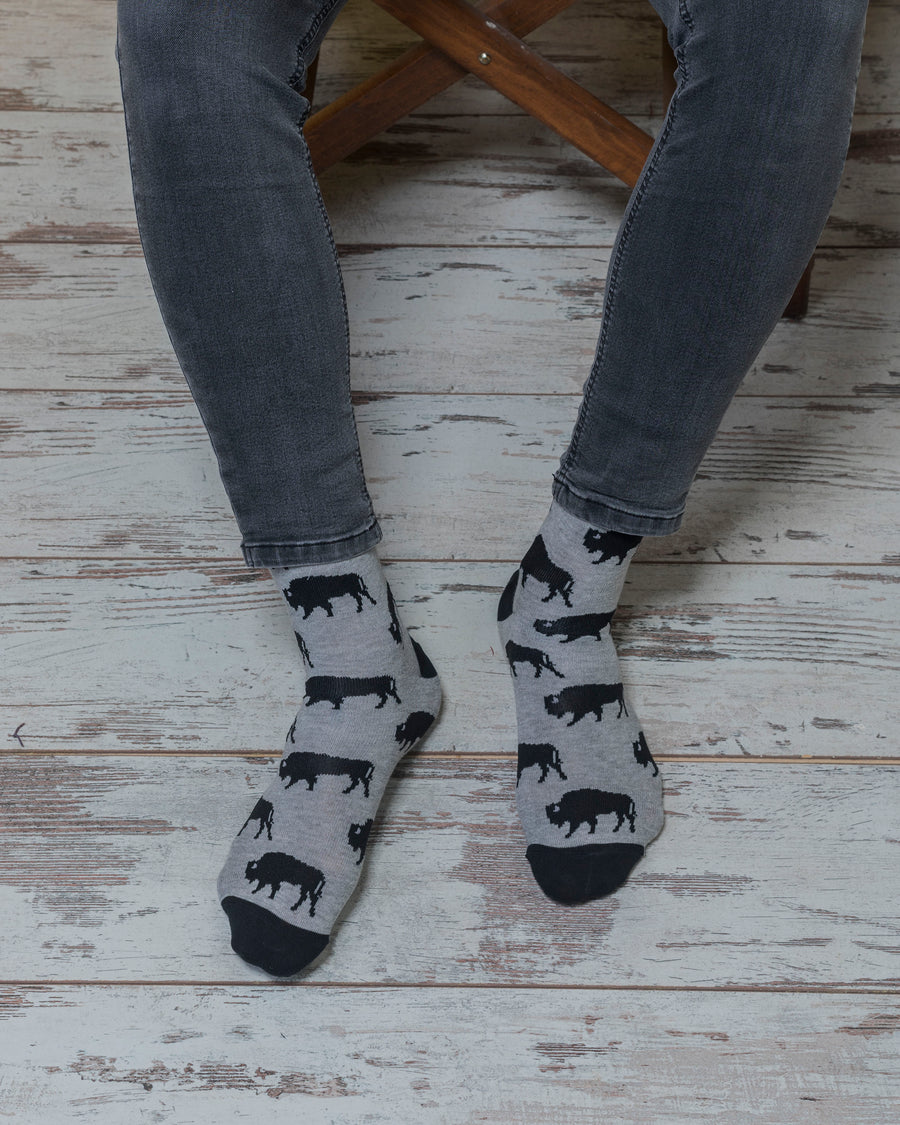 Men's Bison Socks