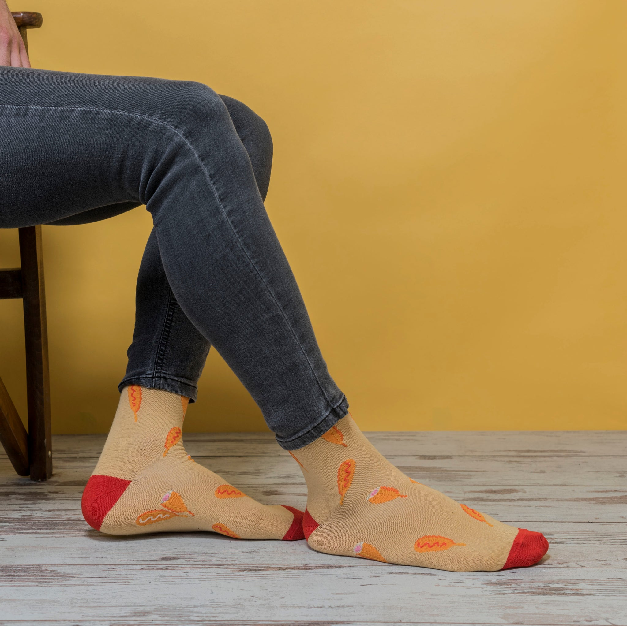 Men's Corn Dog Socks