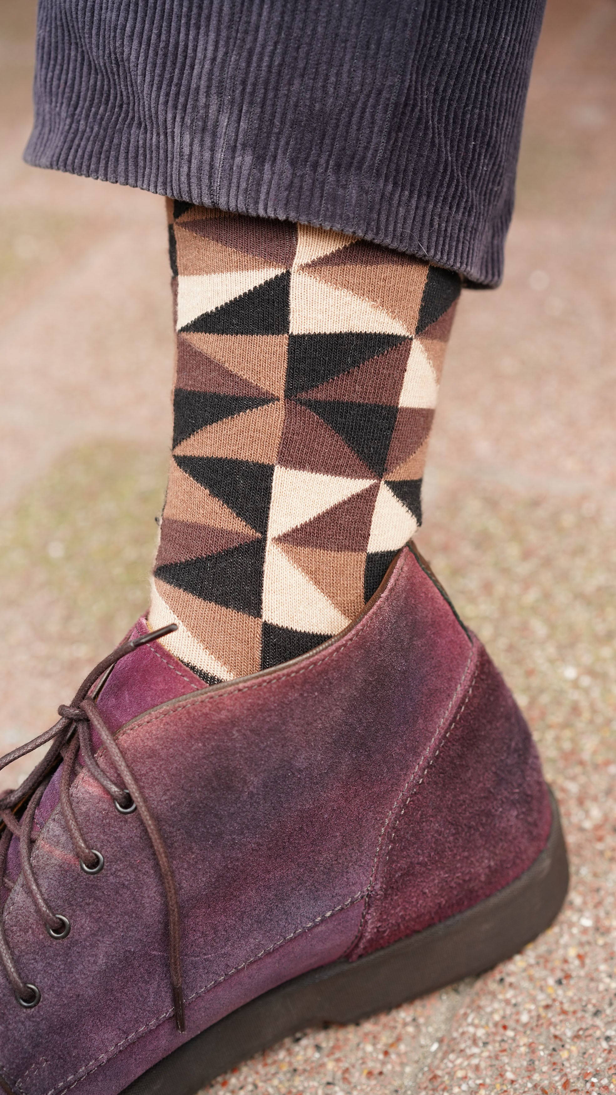 Men's Sand Triangle Socks