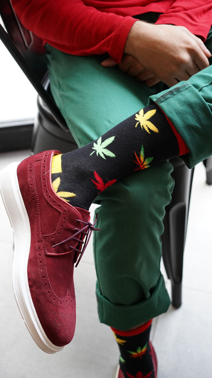 Men's U2 High Socks different types