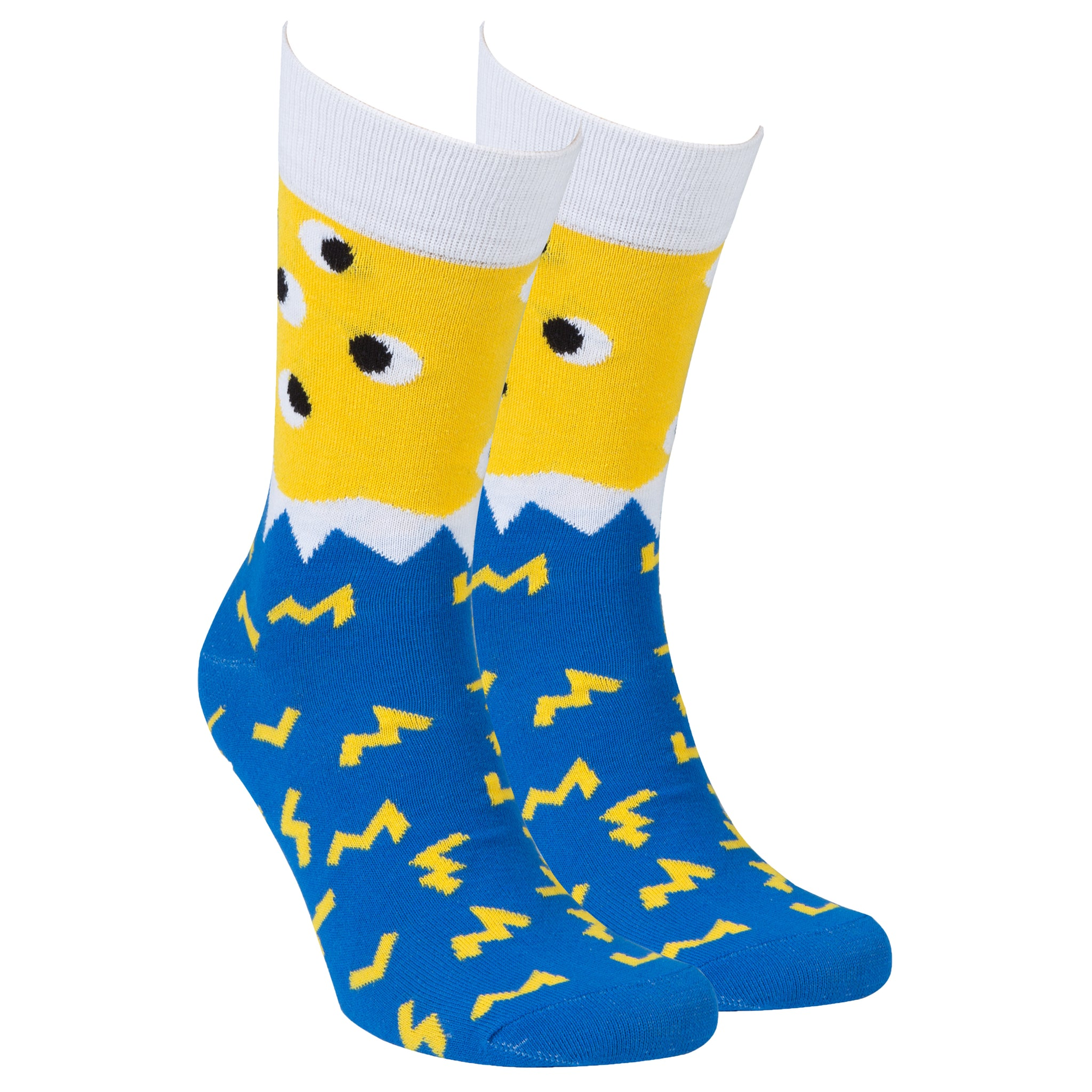 Men's Irregular Eyes Socks