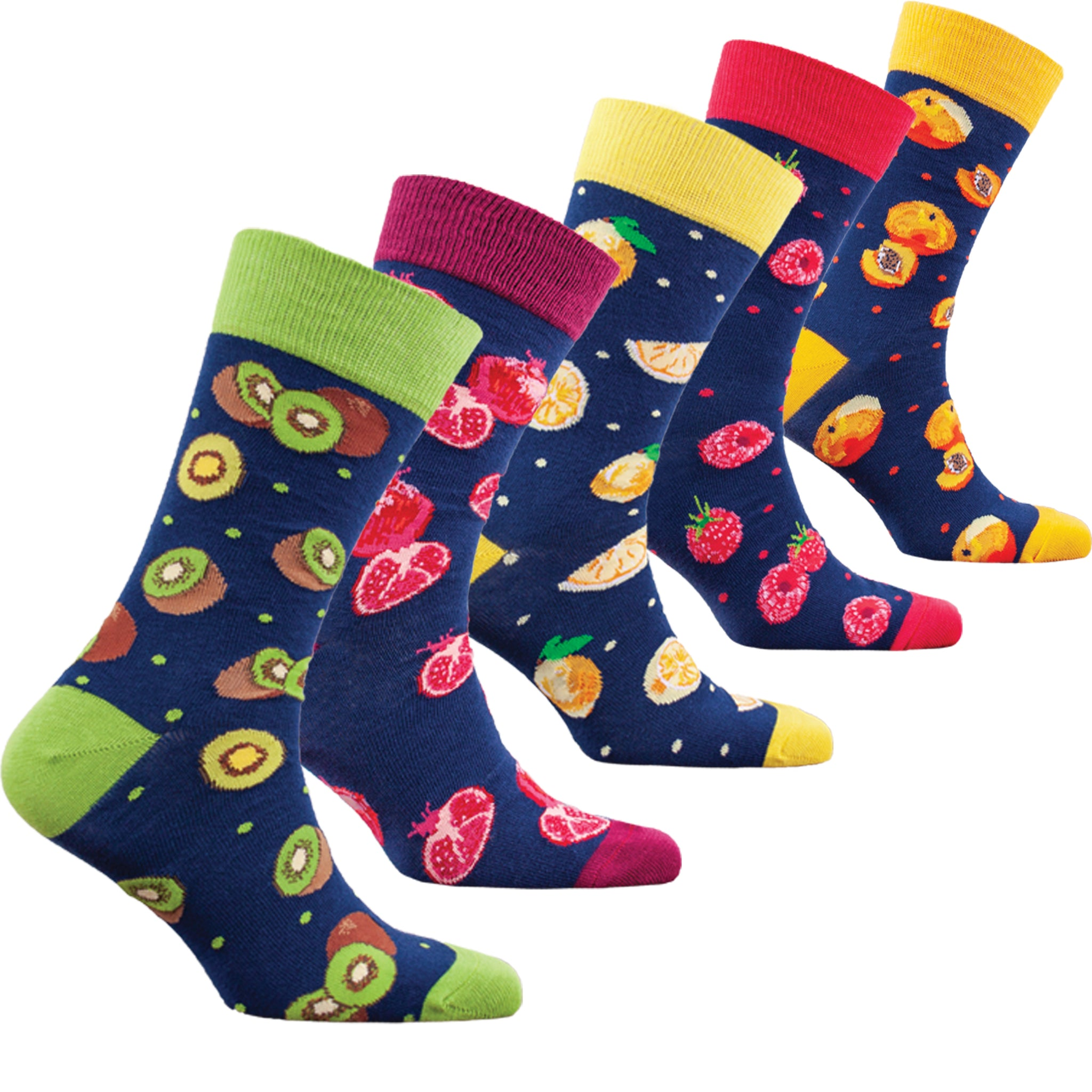 Men's Delightful Fruits Socks