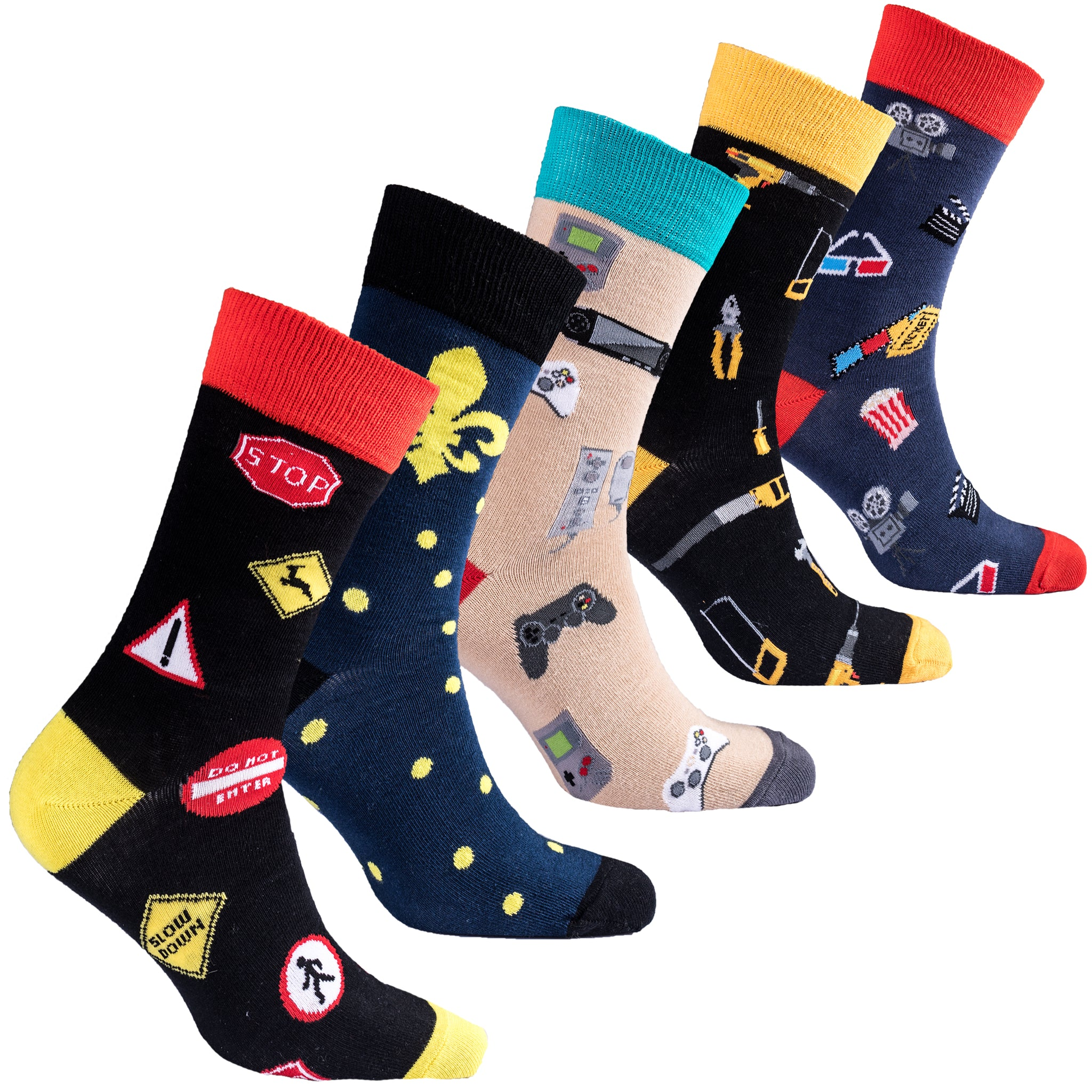 Men's Entertainment Socks