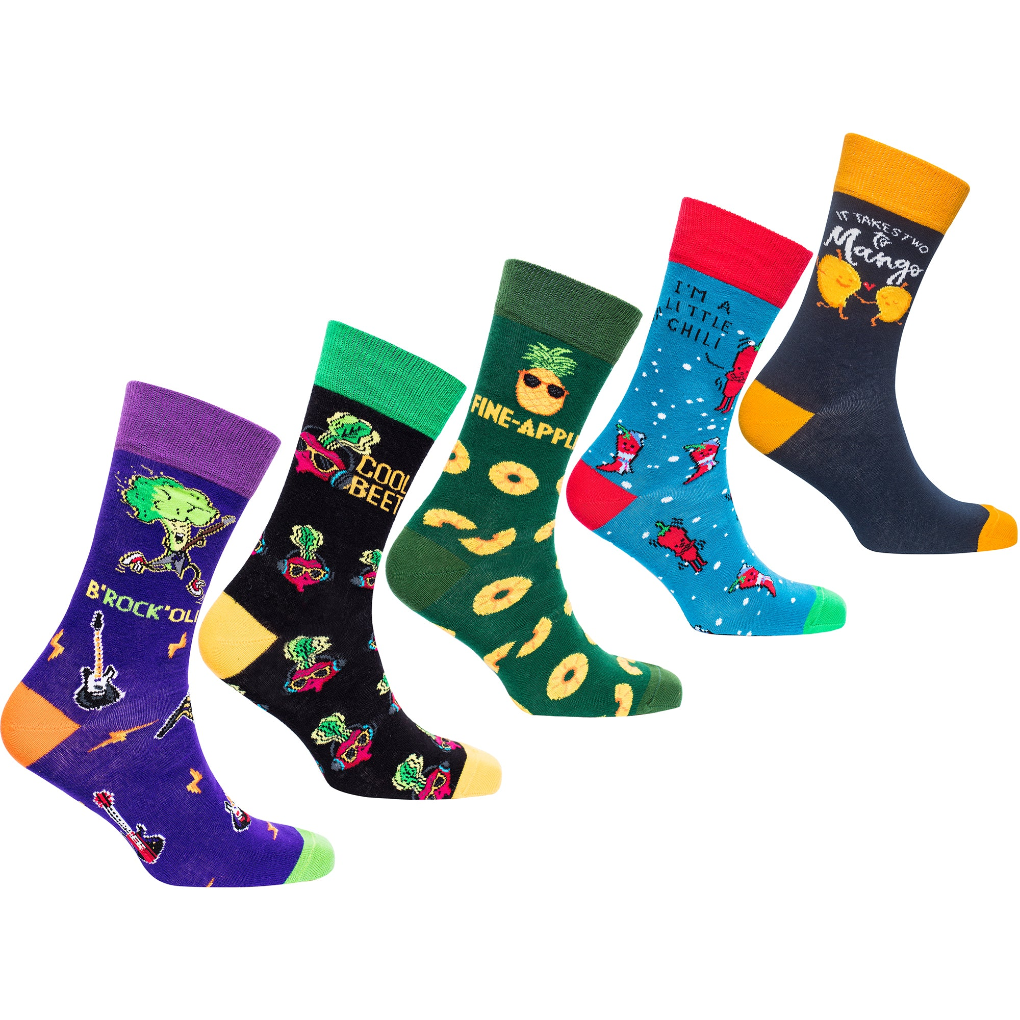 Men's Funky Veggies Socks