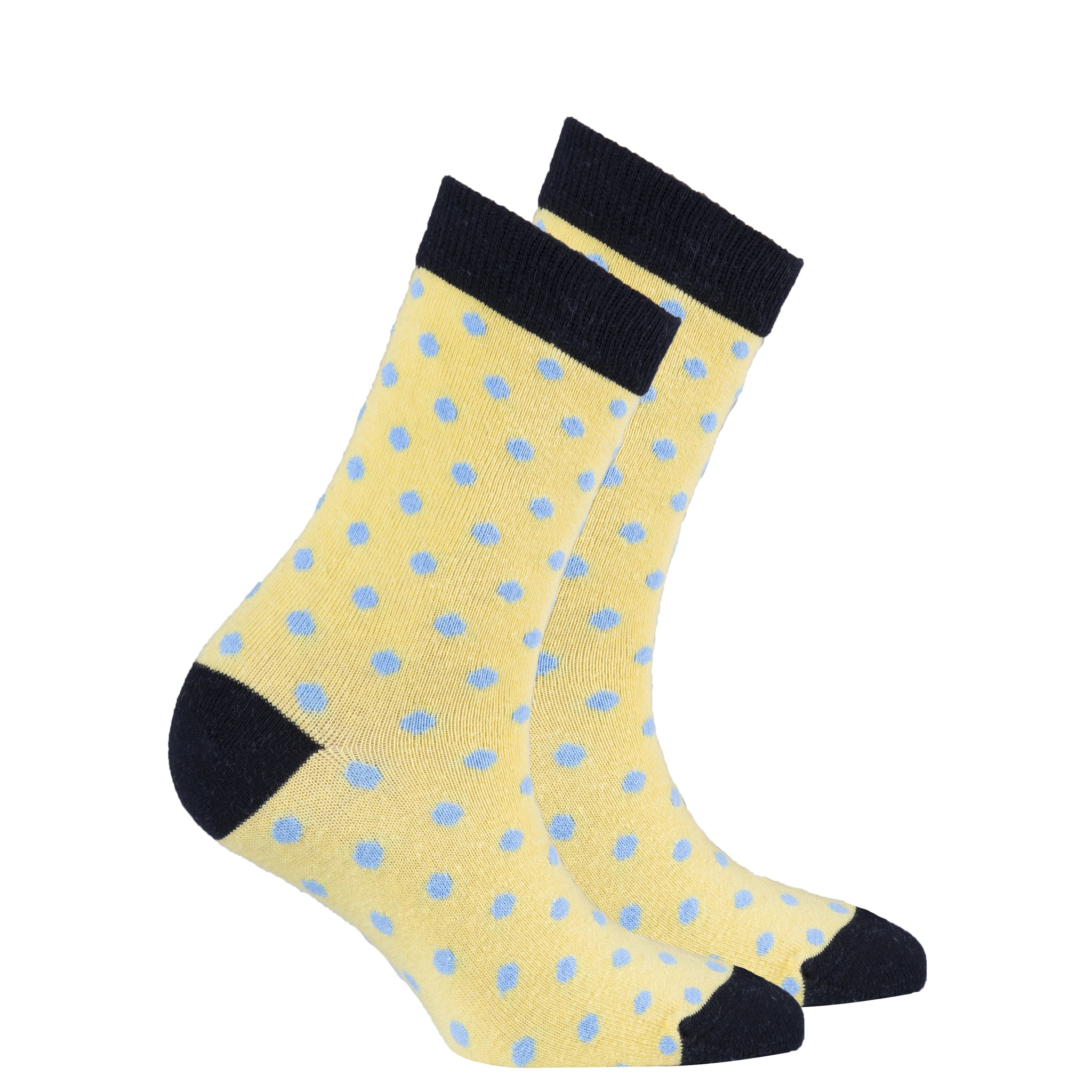 Women's Buttermilk Dot Socks