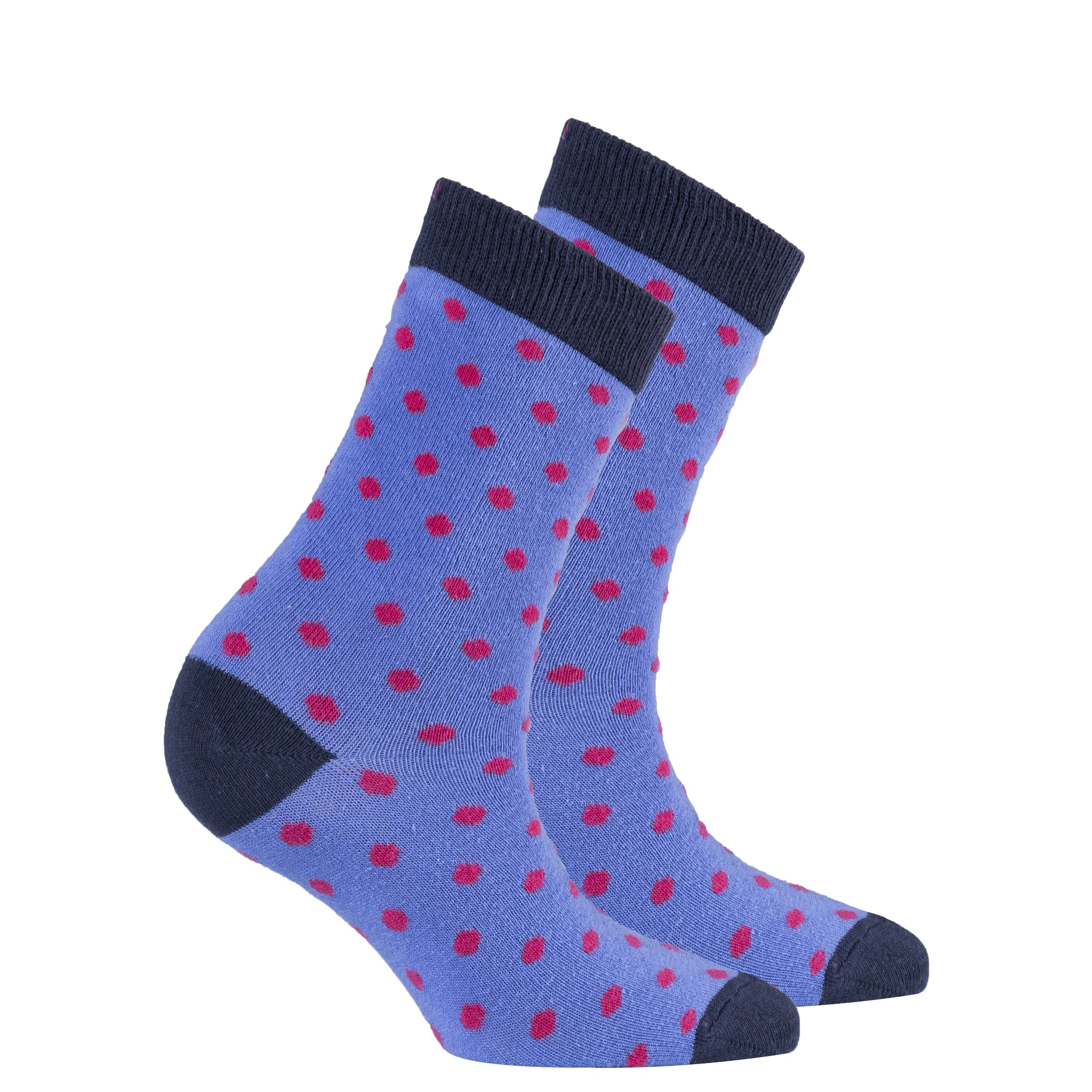 Women's Violet Dot Socks
