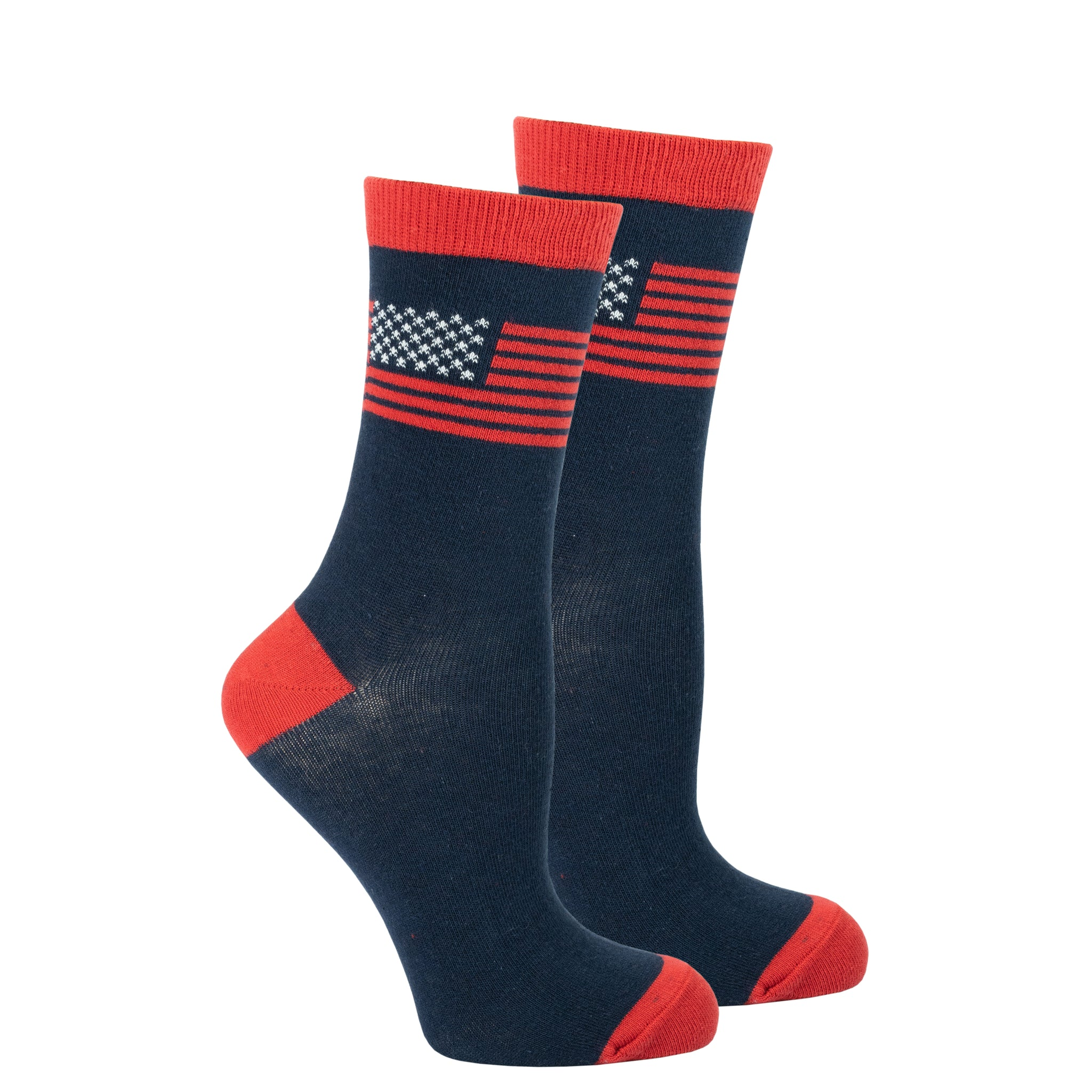 Women's Usa Flag Socks