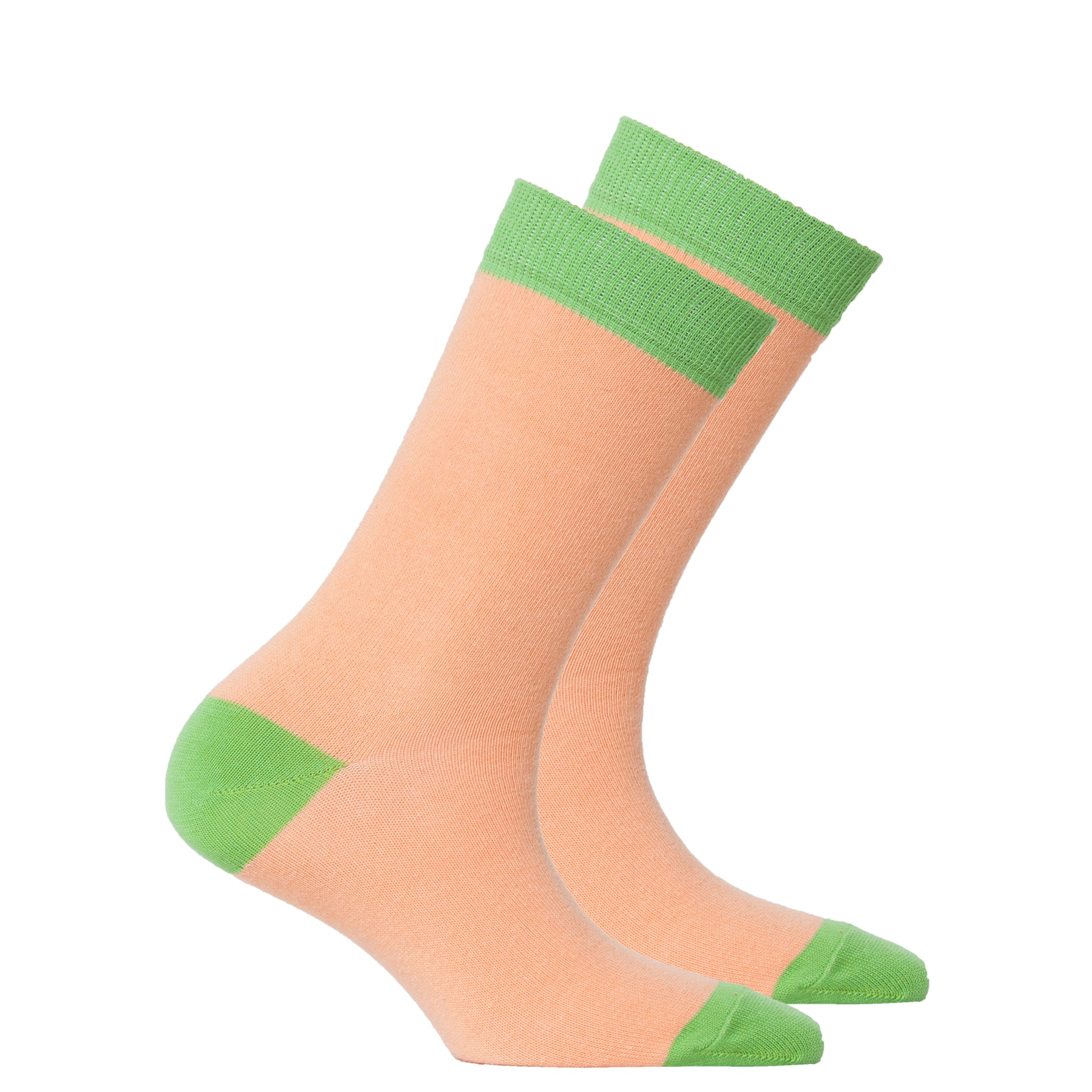 Women's Tangerine Grass Socks
