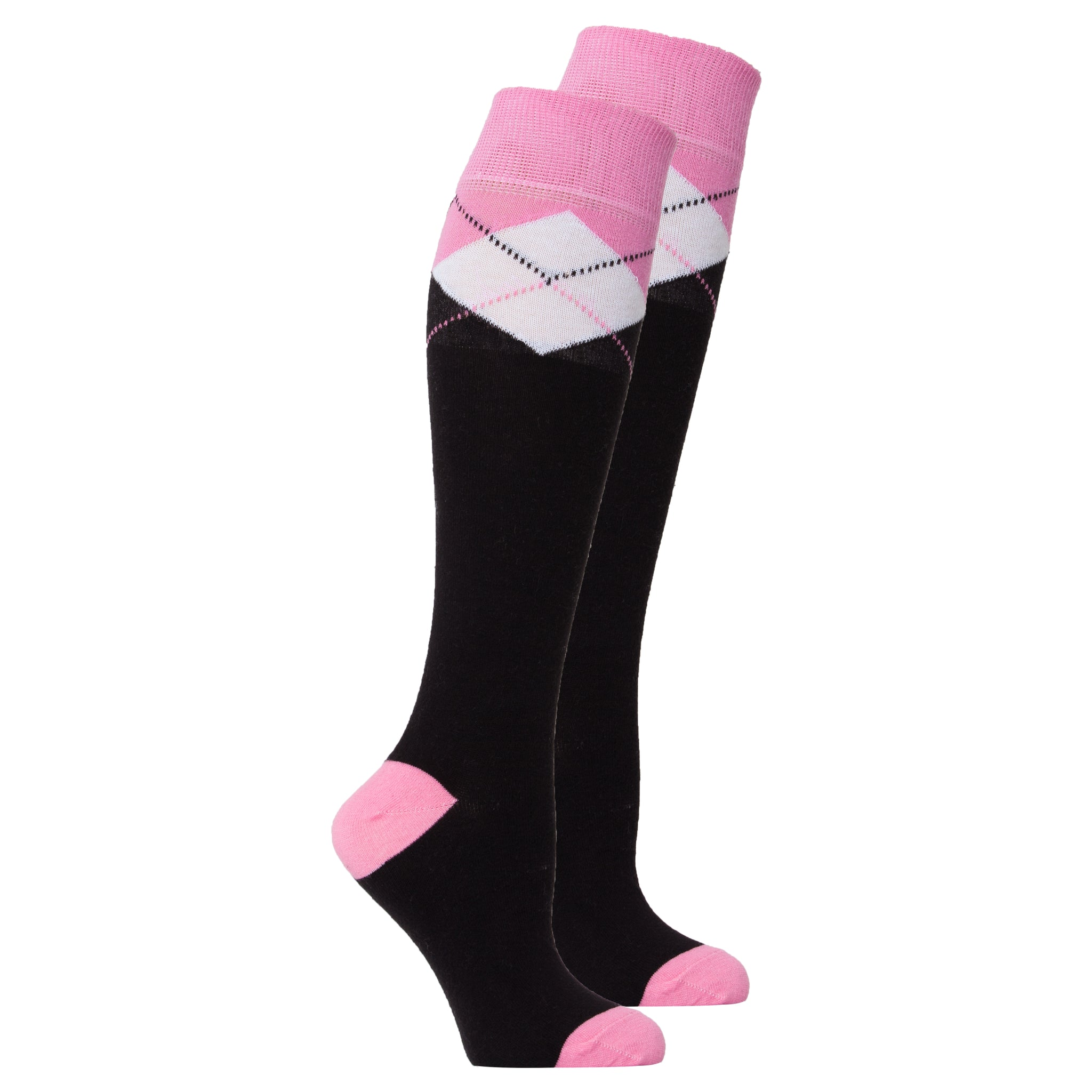 Women's Black Candy Knee High Socks