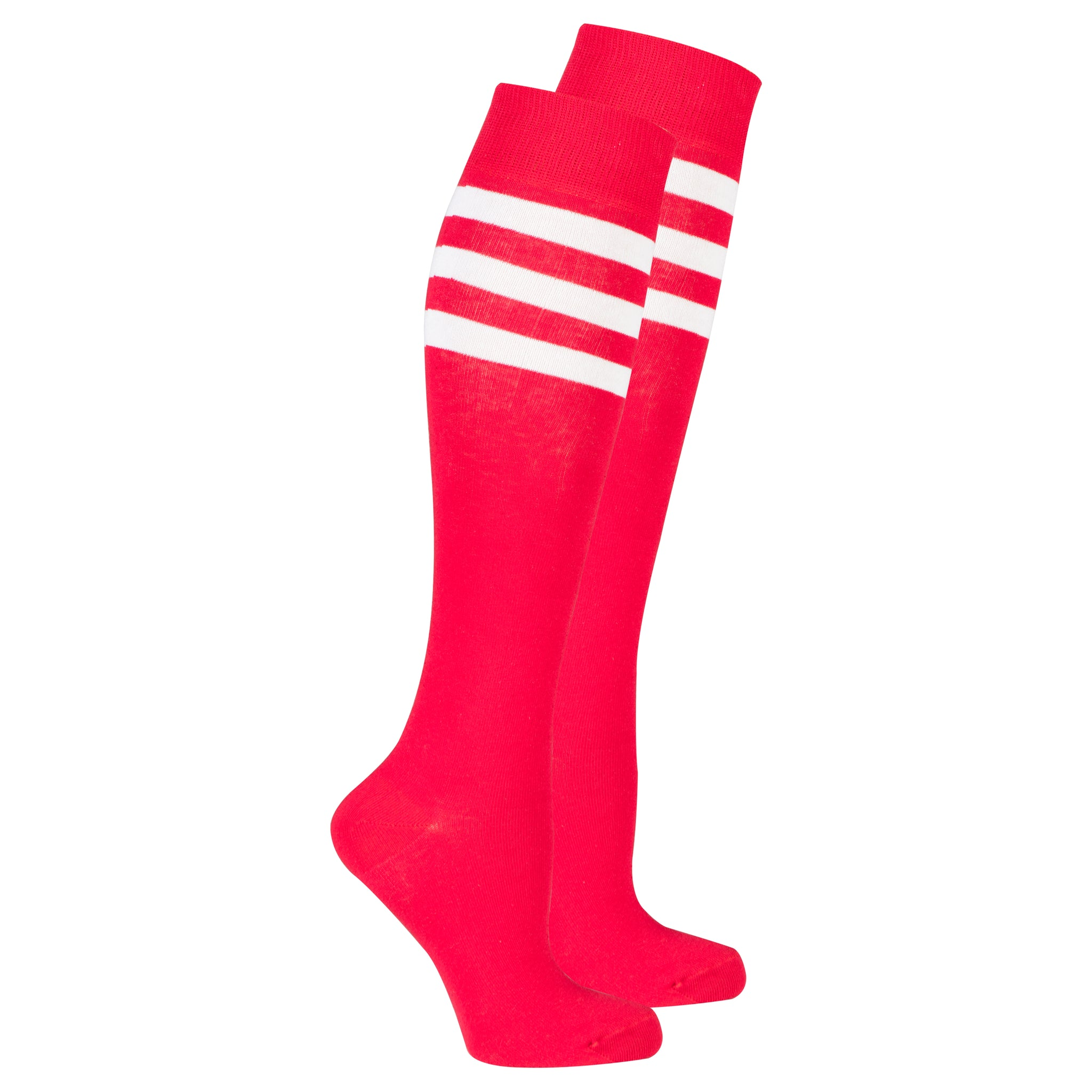 Women's Berry Stripe Knee High Socks