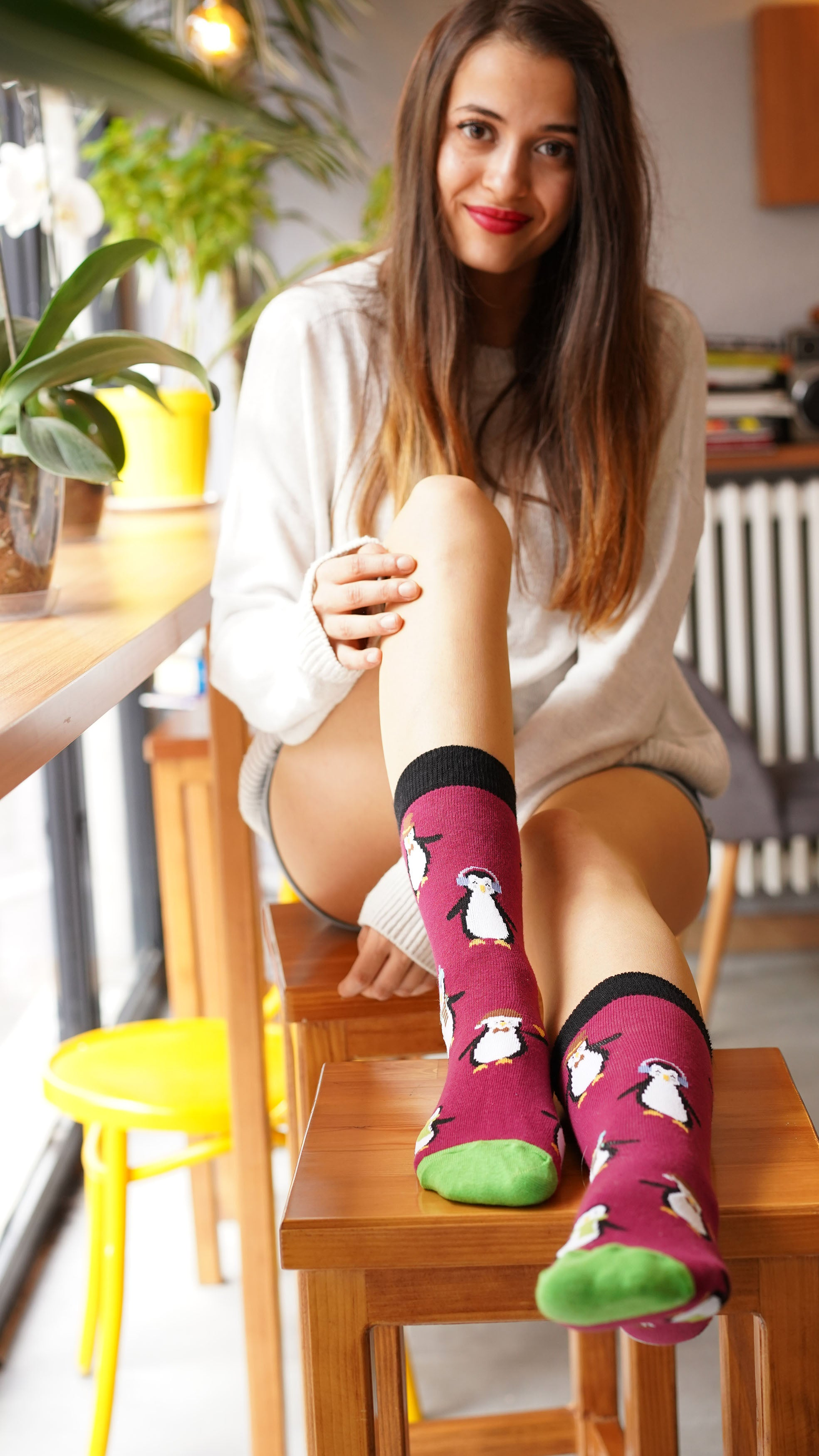 Women's Penguin Socks
