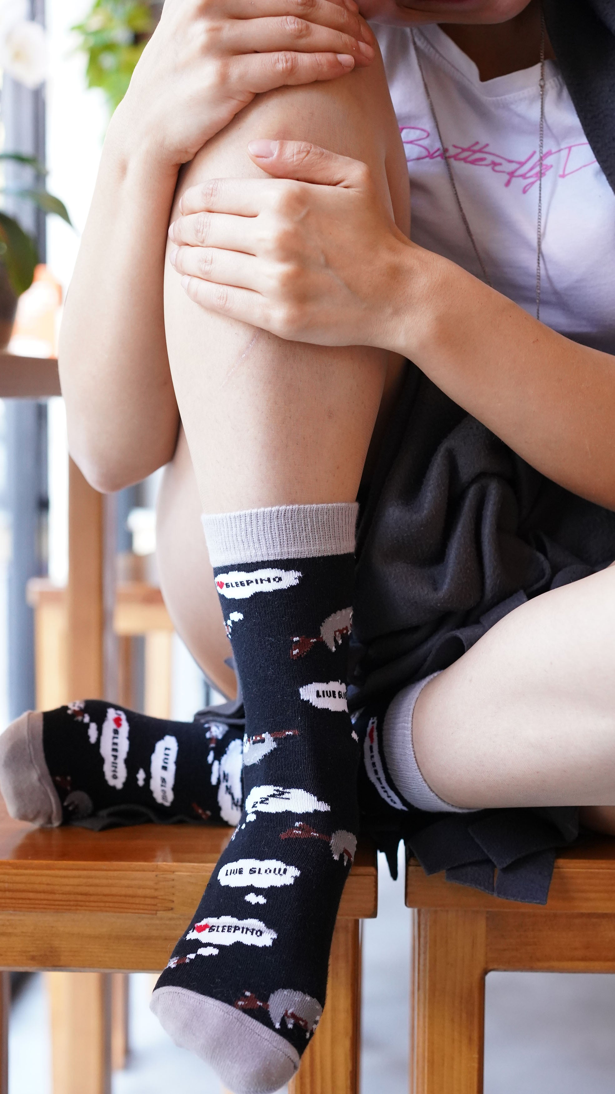 Women's Lazy Sloth Socks