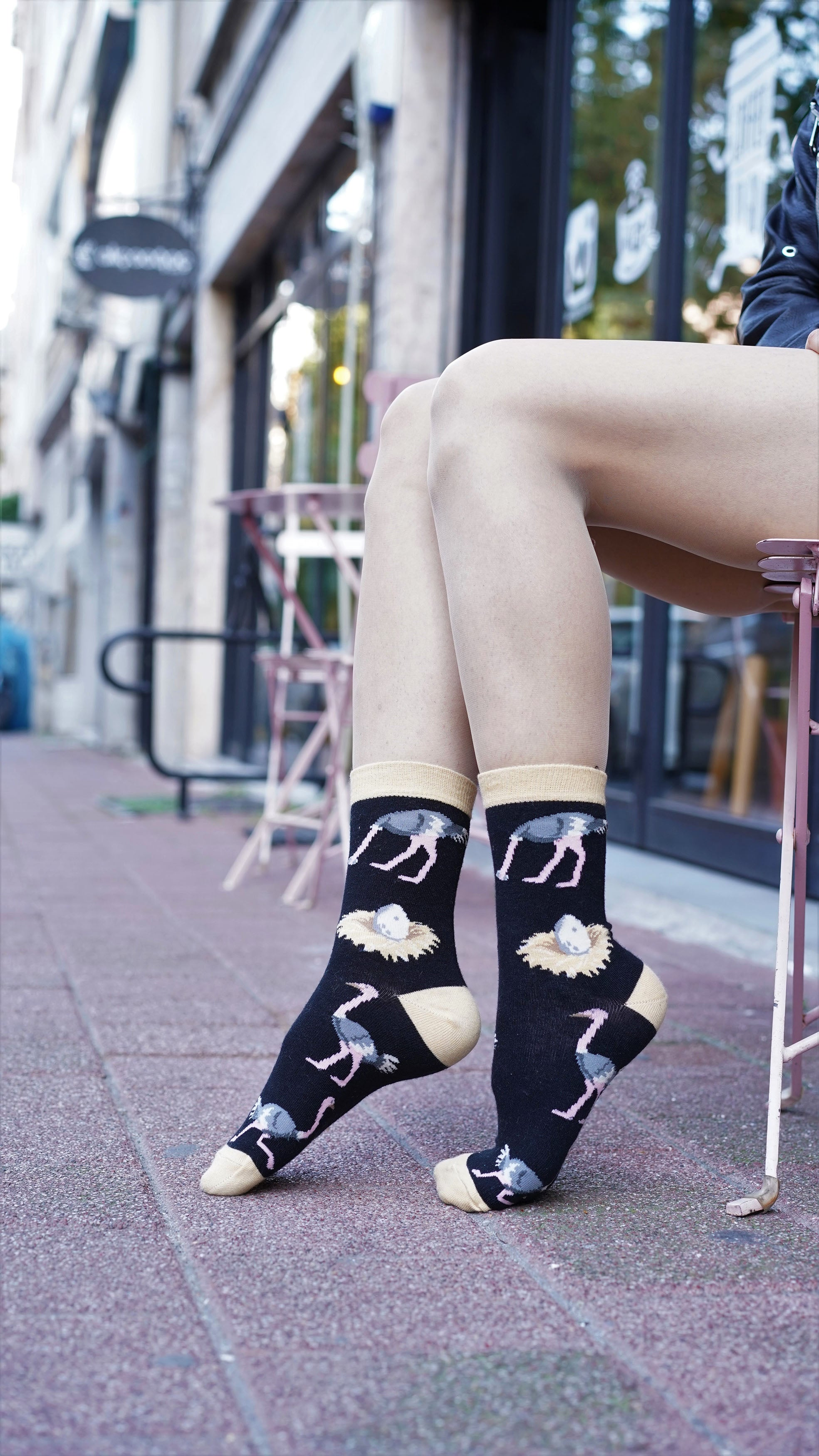 Women's Ostrich Socks