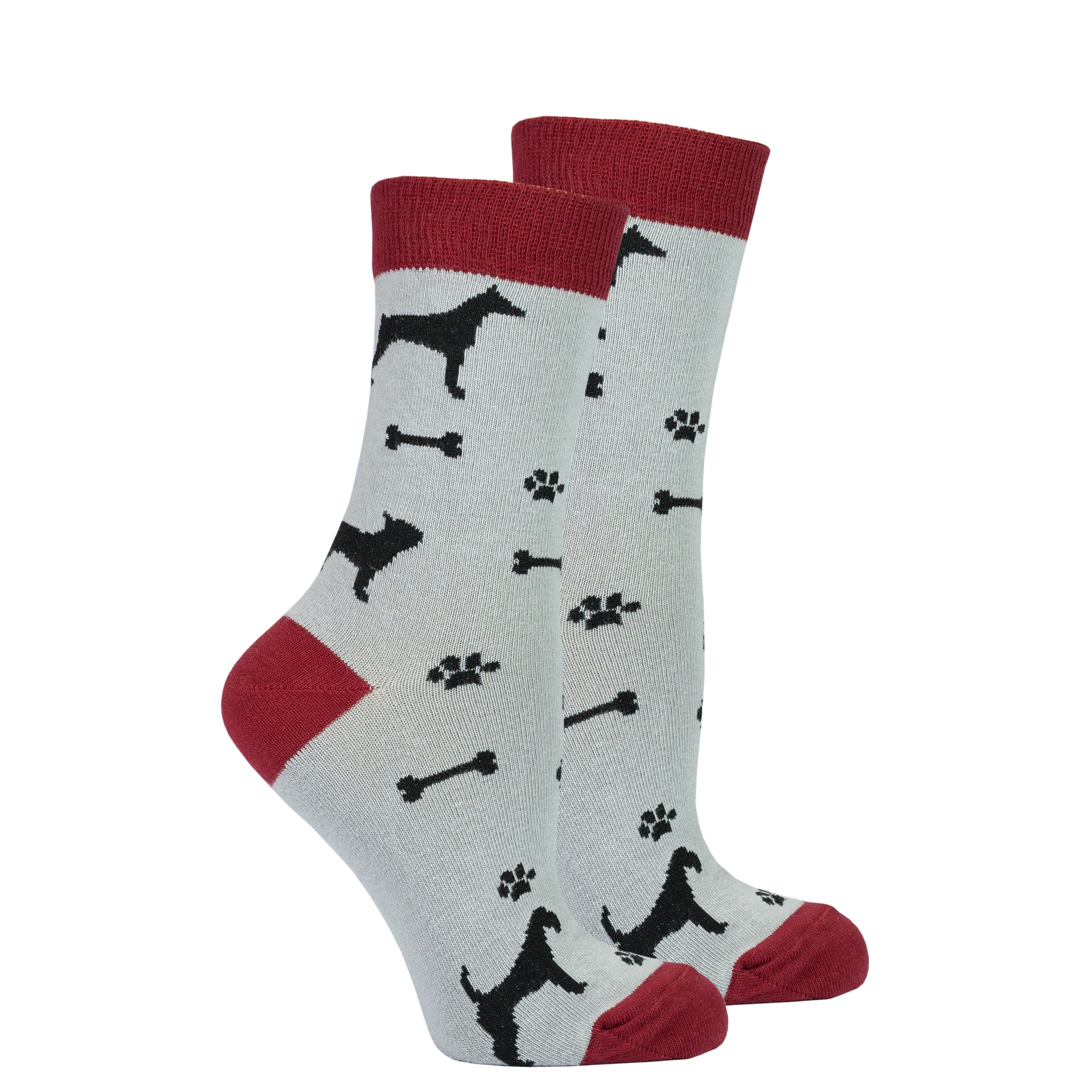 Women's Shadow Dog Socks
