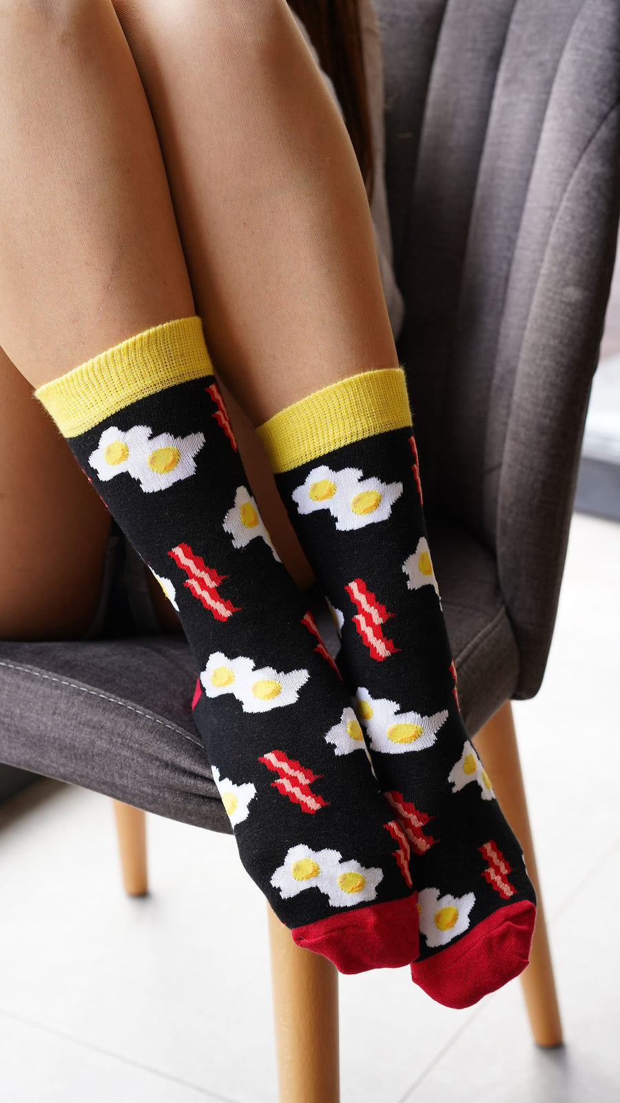 Women's Bacon & Eggs Socks