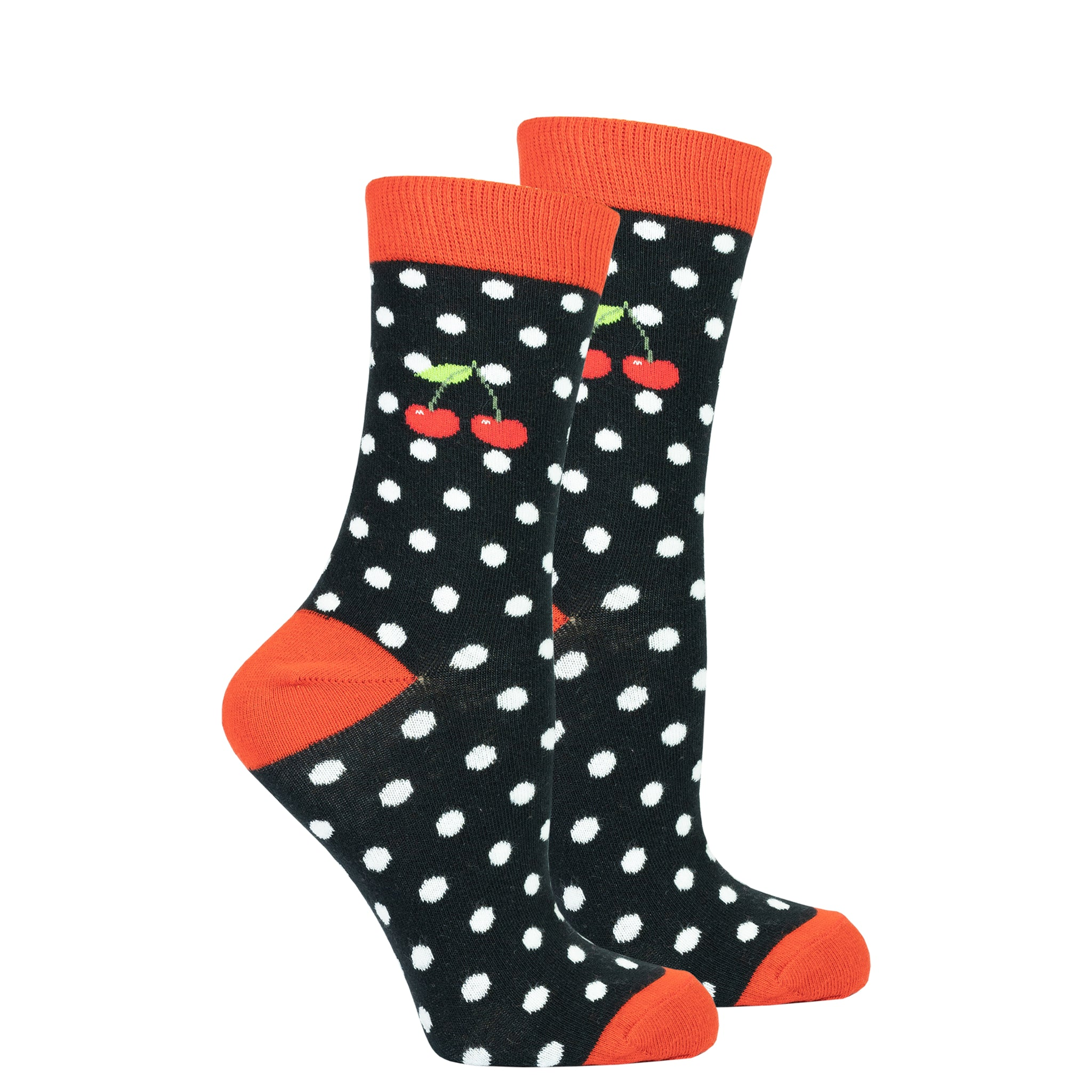 Women's Cherry Dot Socks