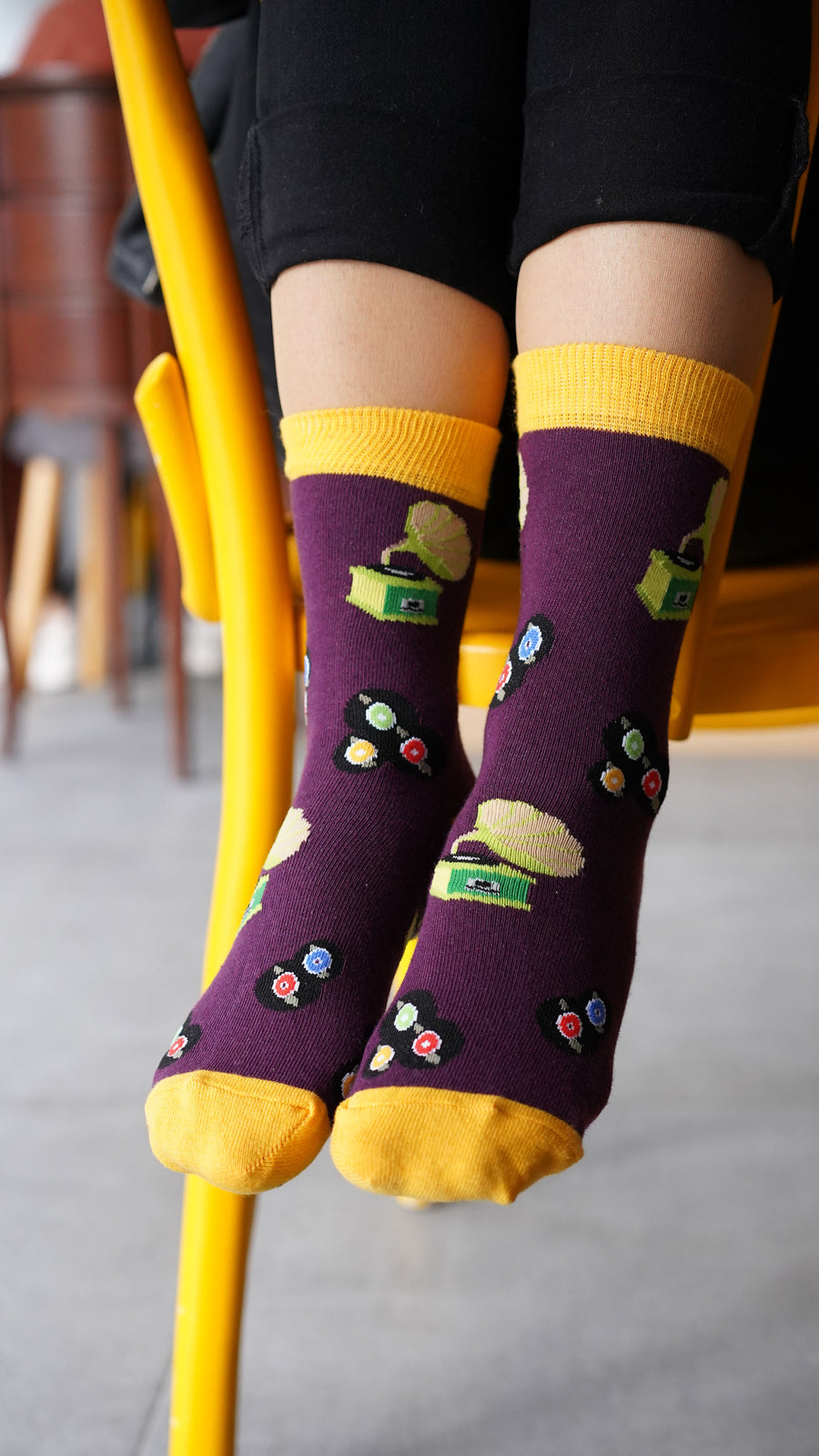 Women's Gramophone Socks