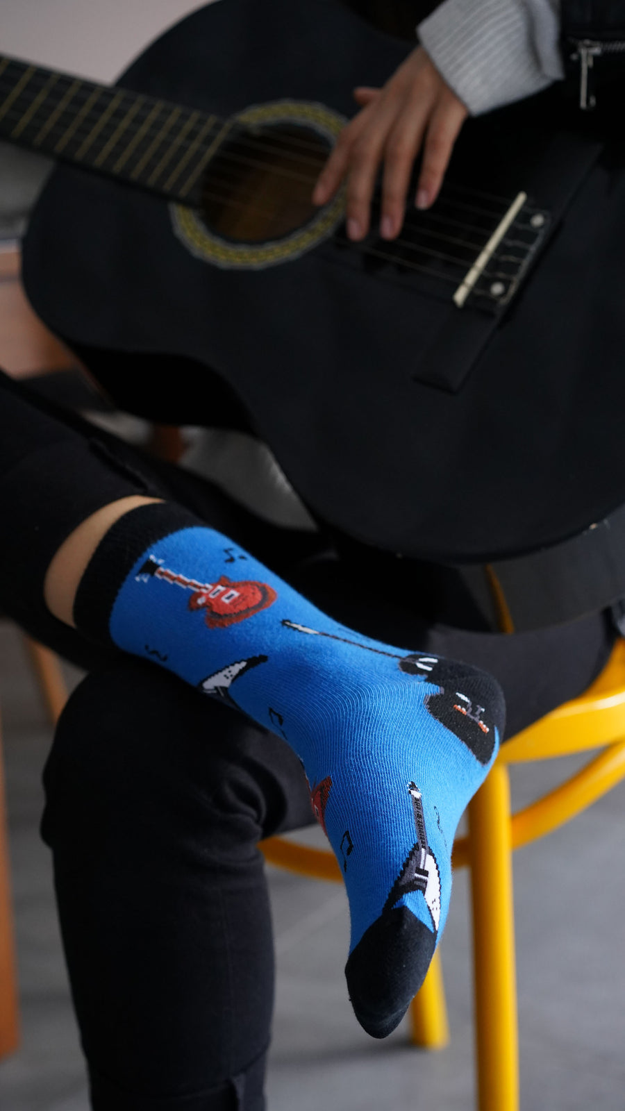 Women's Guitars Socks