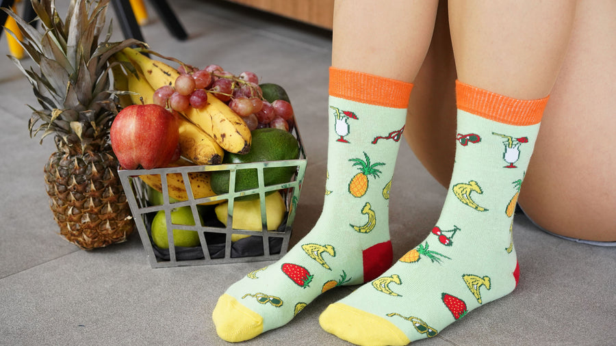 Women's Tropical Socks