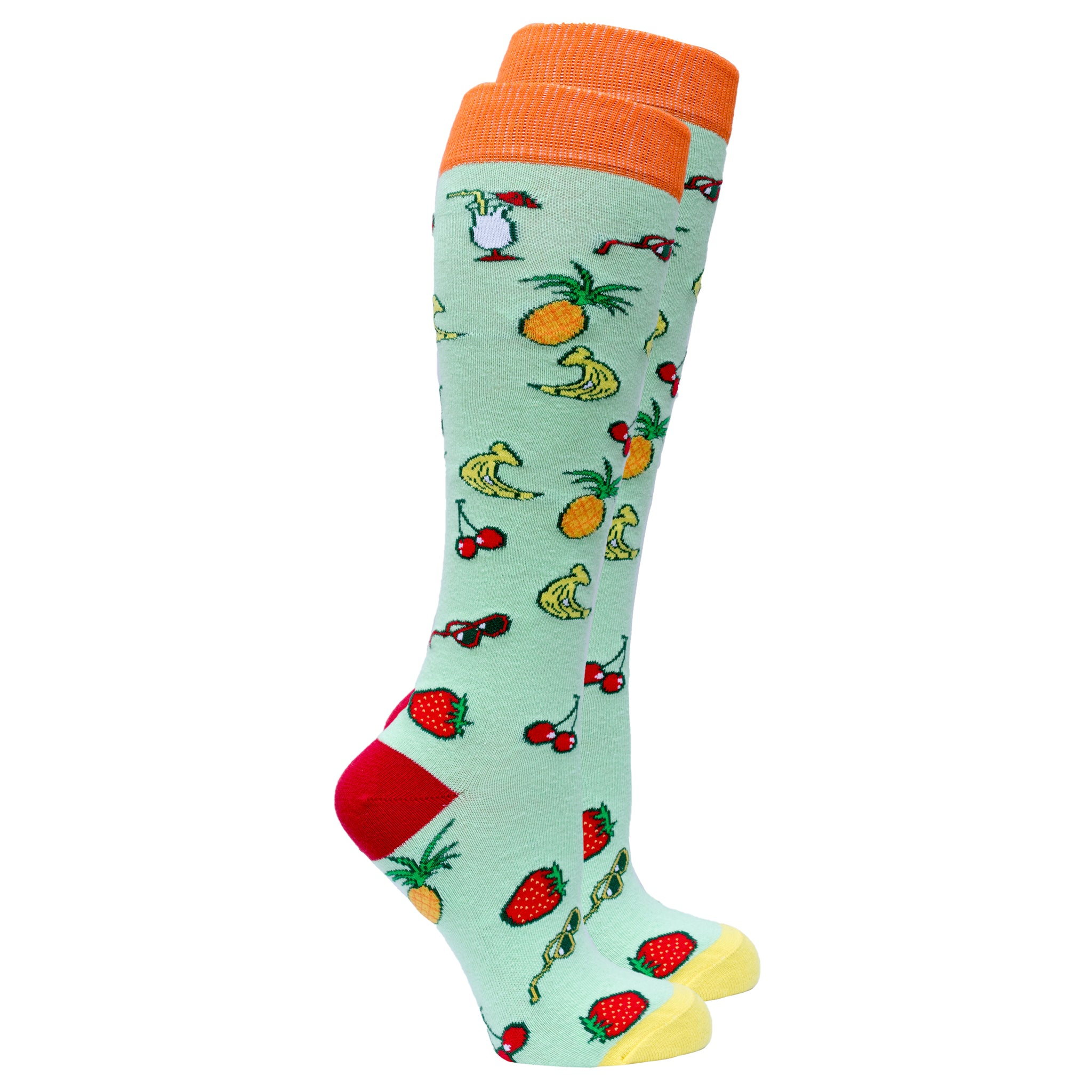 Women's Tropical Knee High Socks