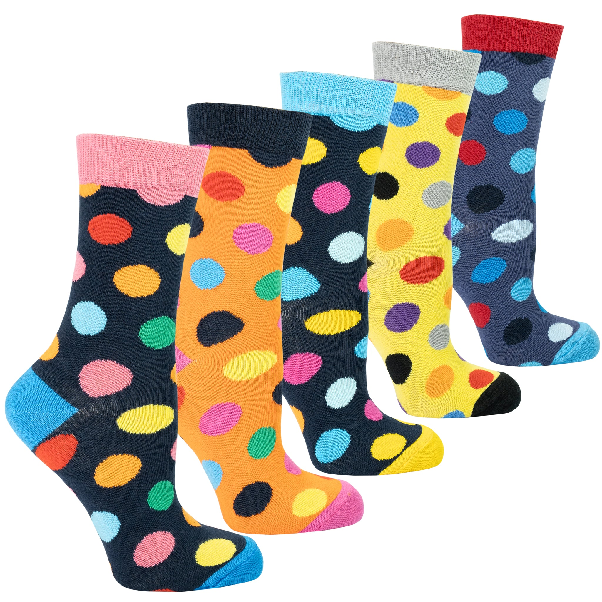 Women's Modern Dots Socks Set