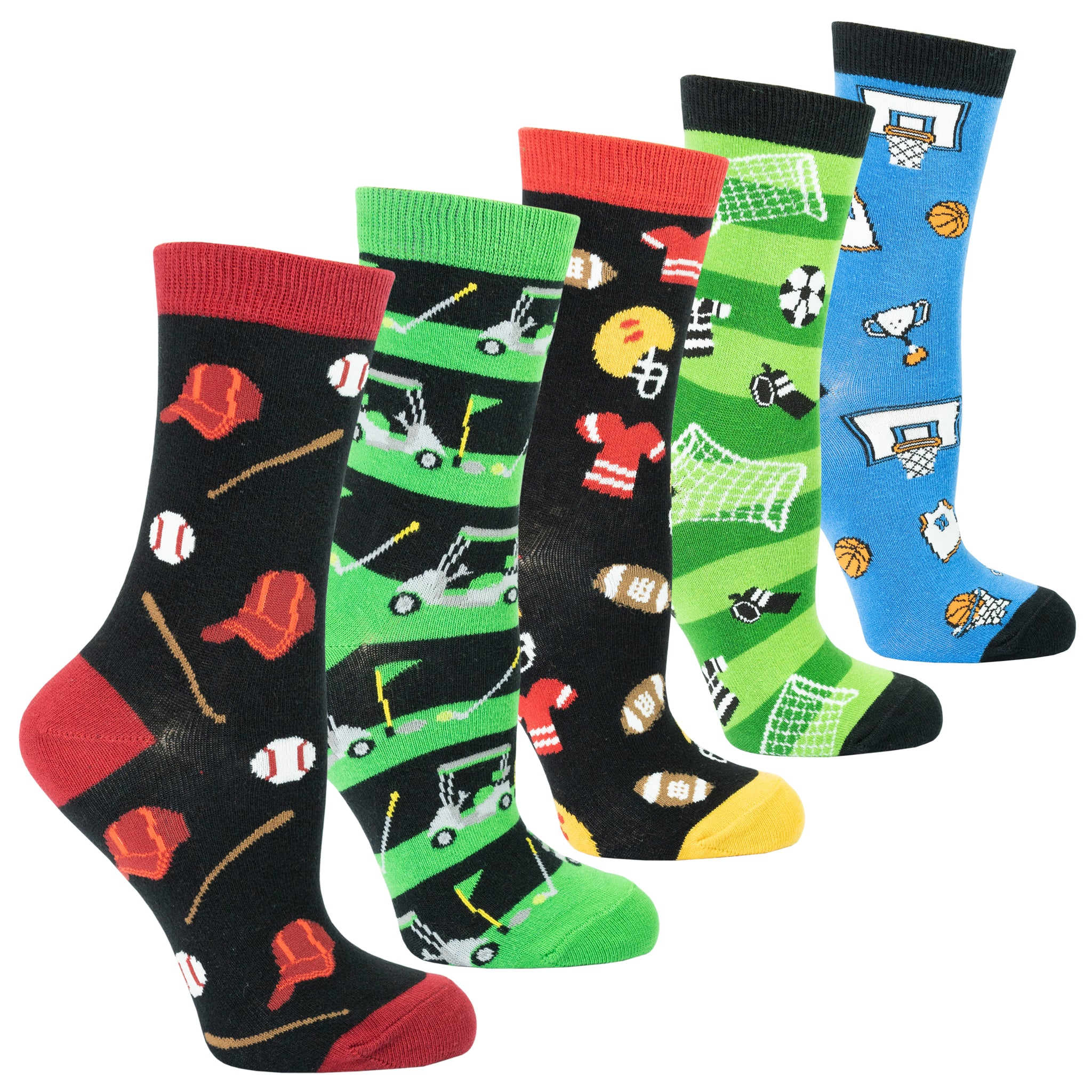 Women's Sports Socks Set
