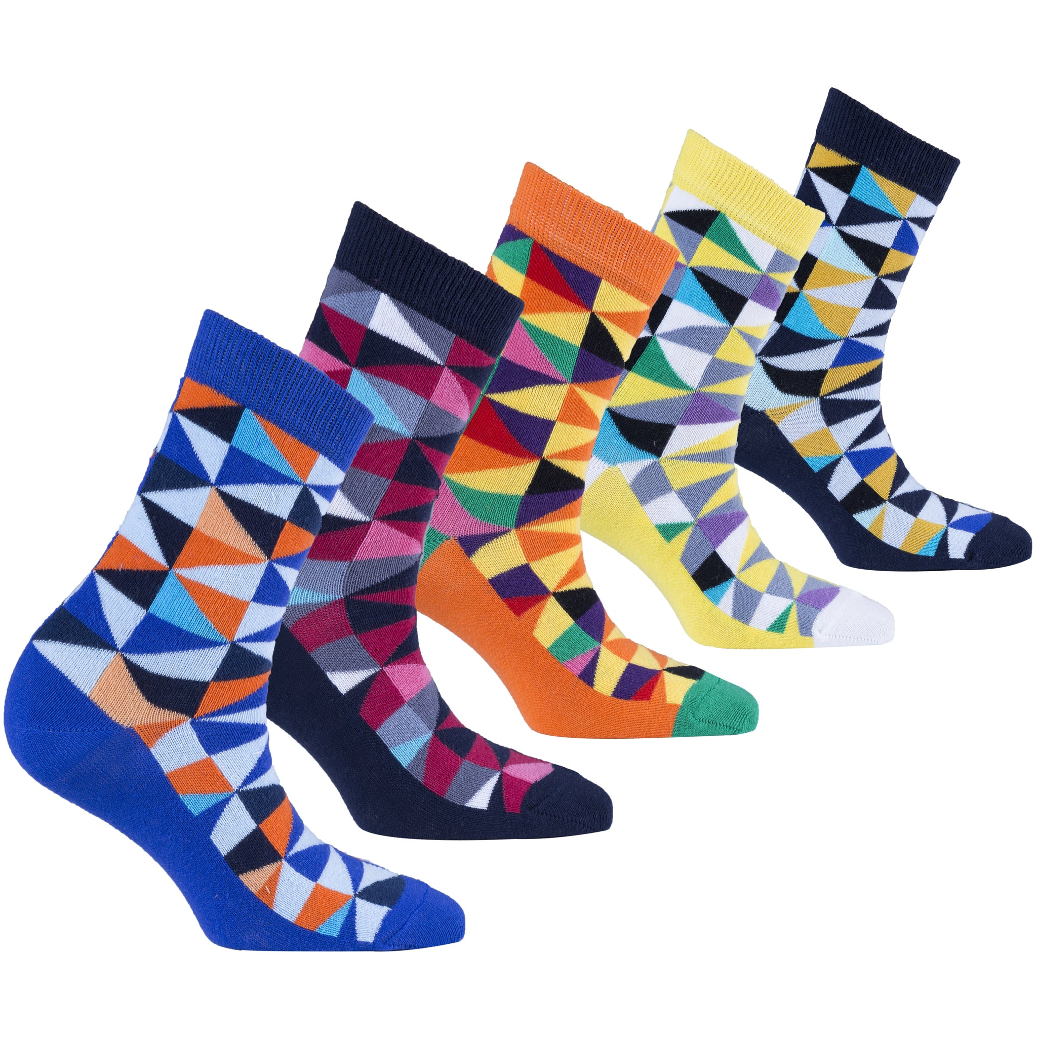 Women's Stylish Triangle Socks Set