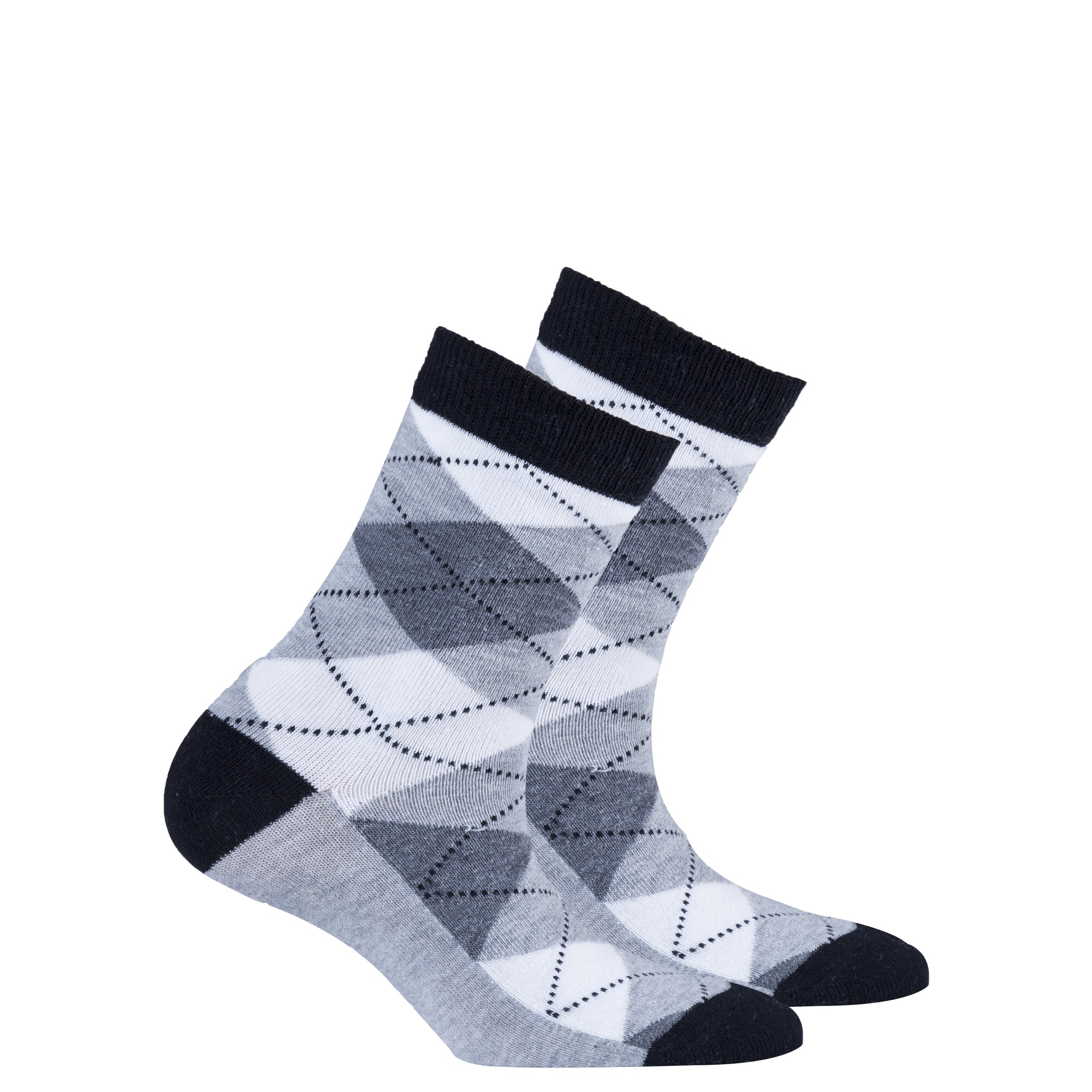 Kids Cloud Argyle Socks