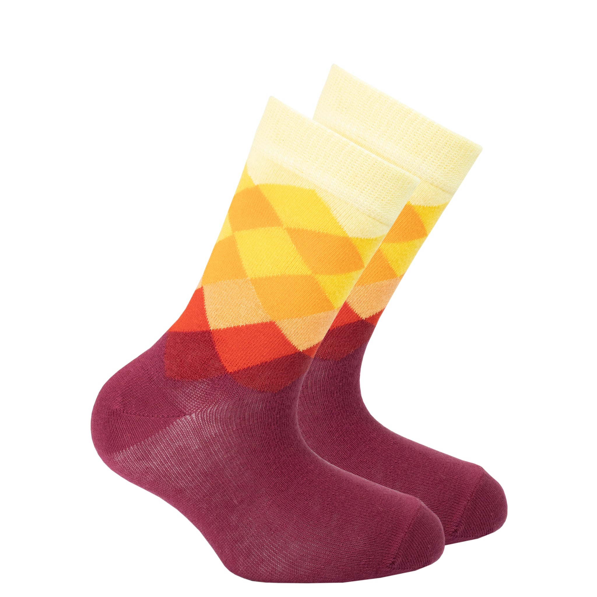 Kids Flame Diamond Socks