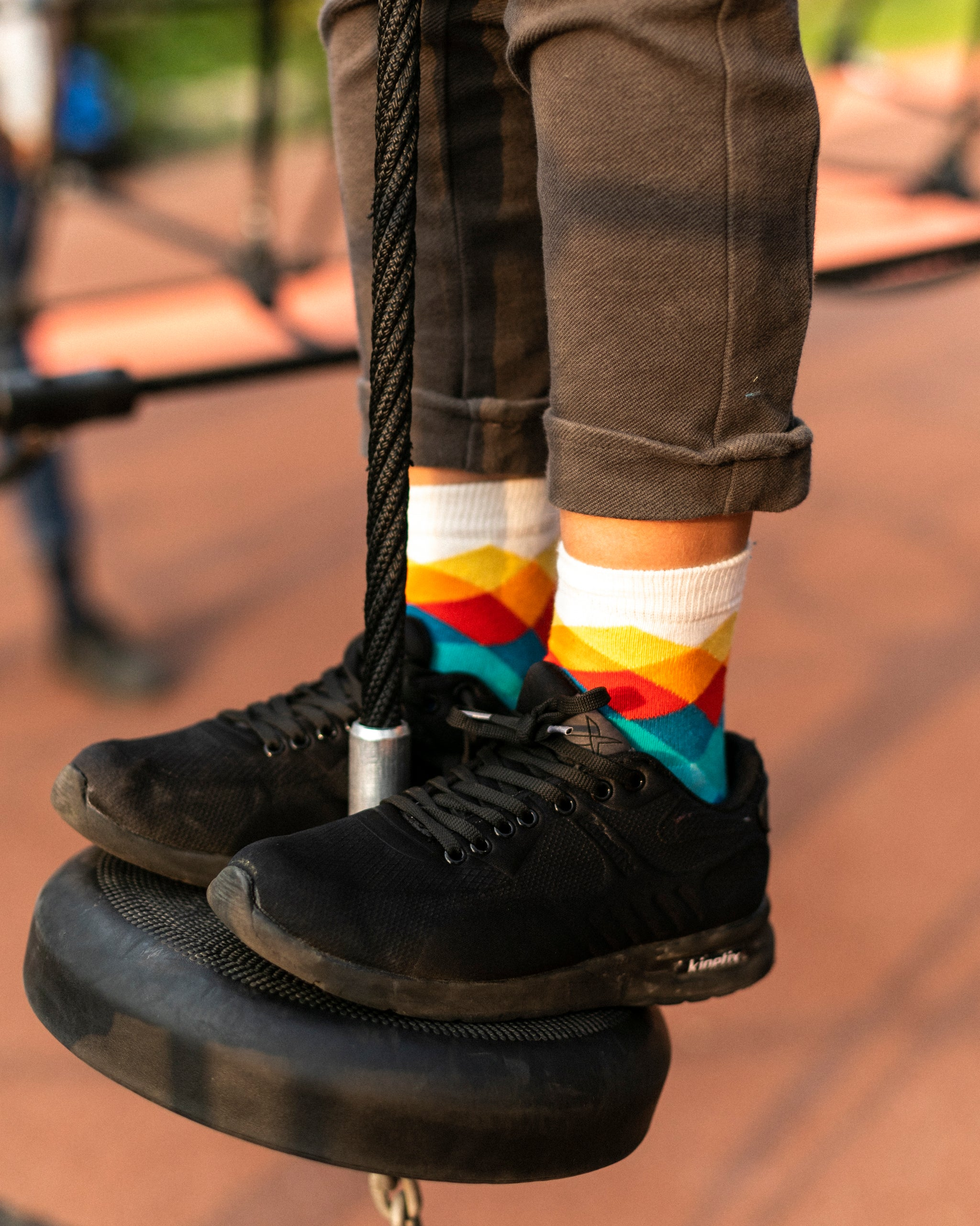 Kids Marine Diamond Socks
