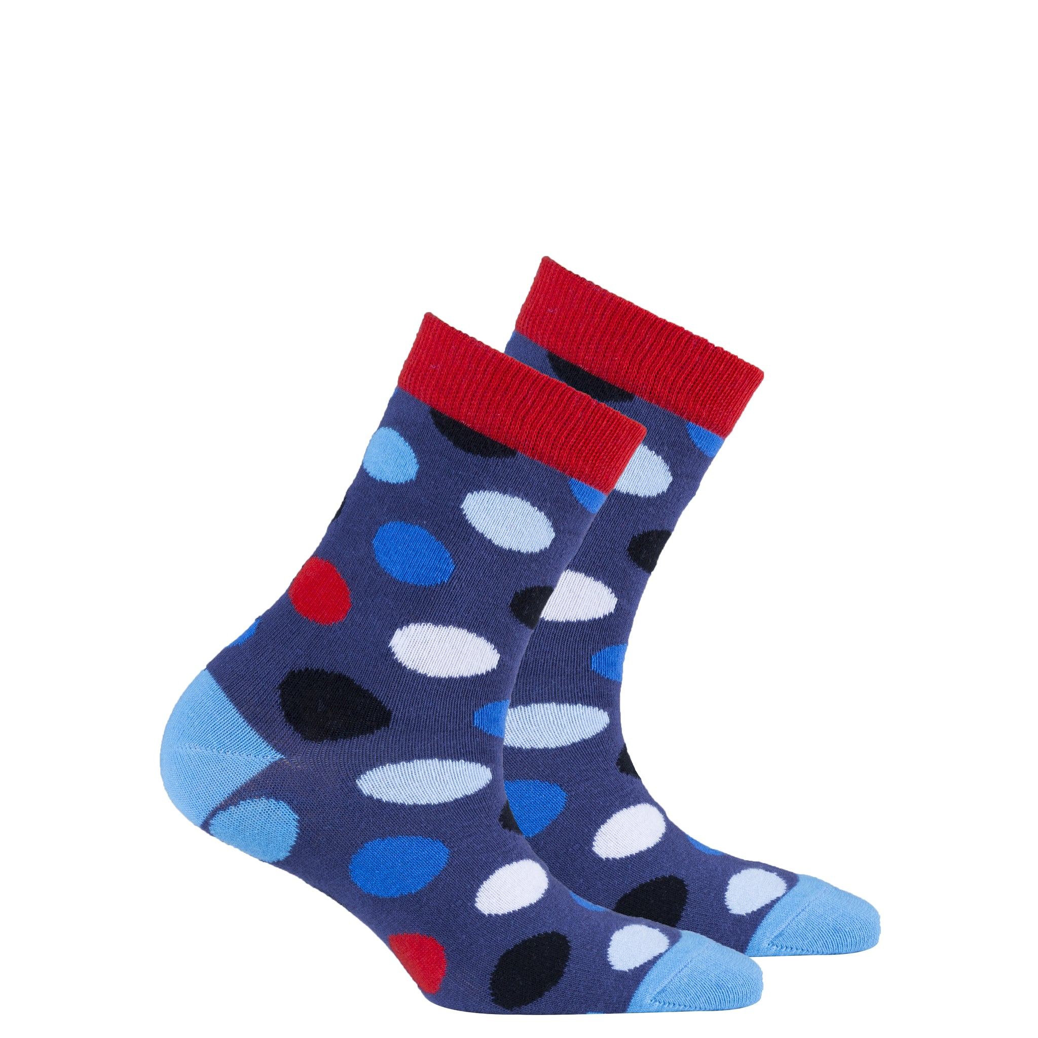 Kids Red Admiral Dot Socks