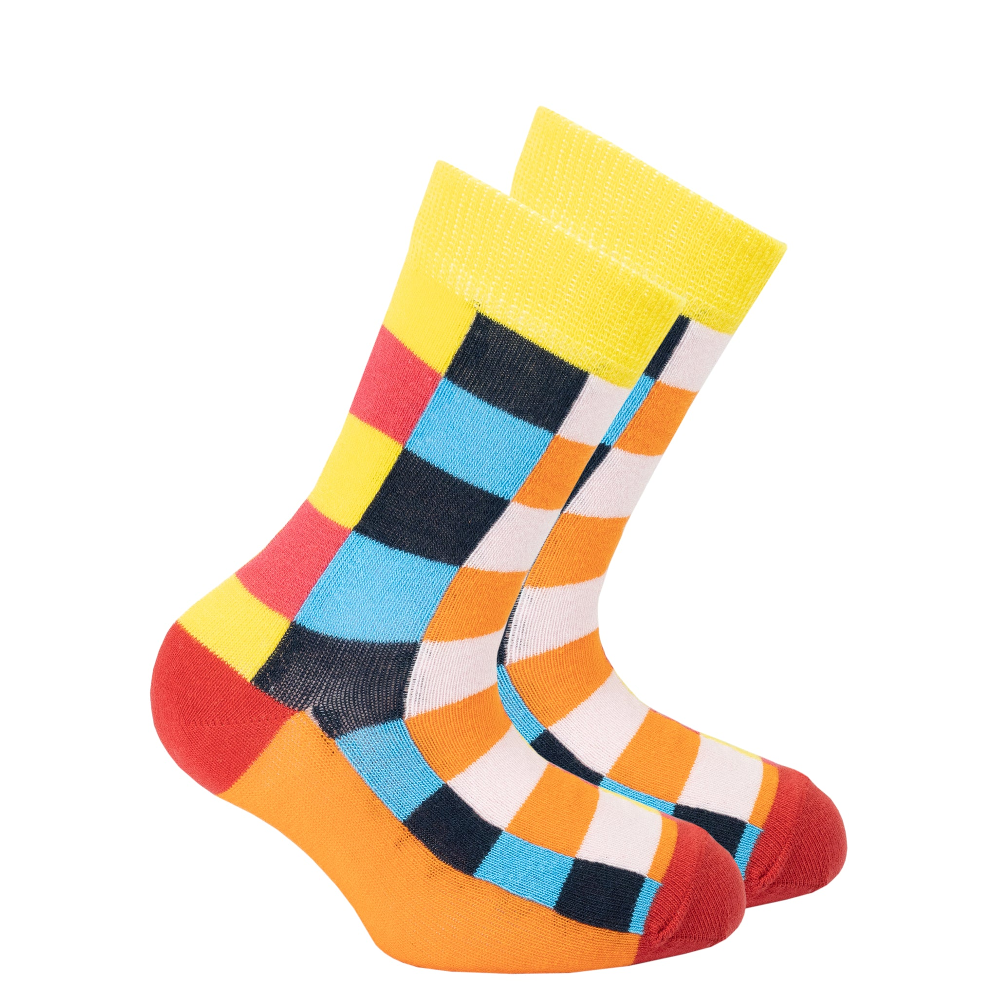 Kids Canary Square Socks