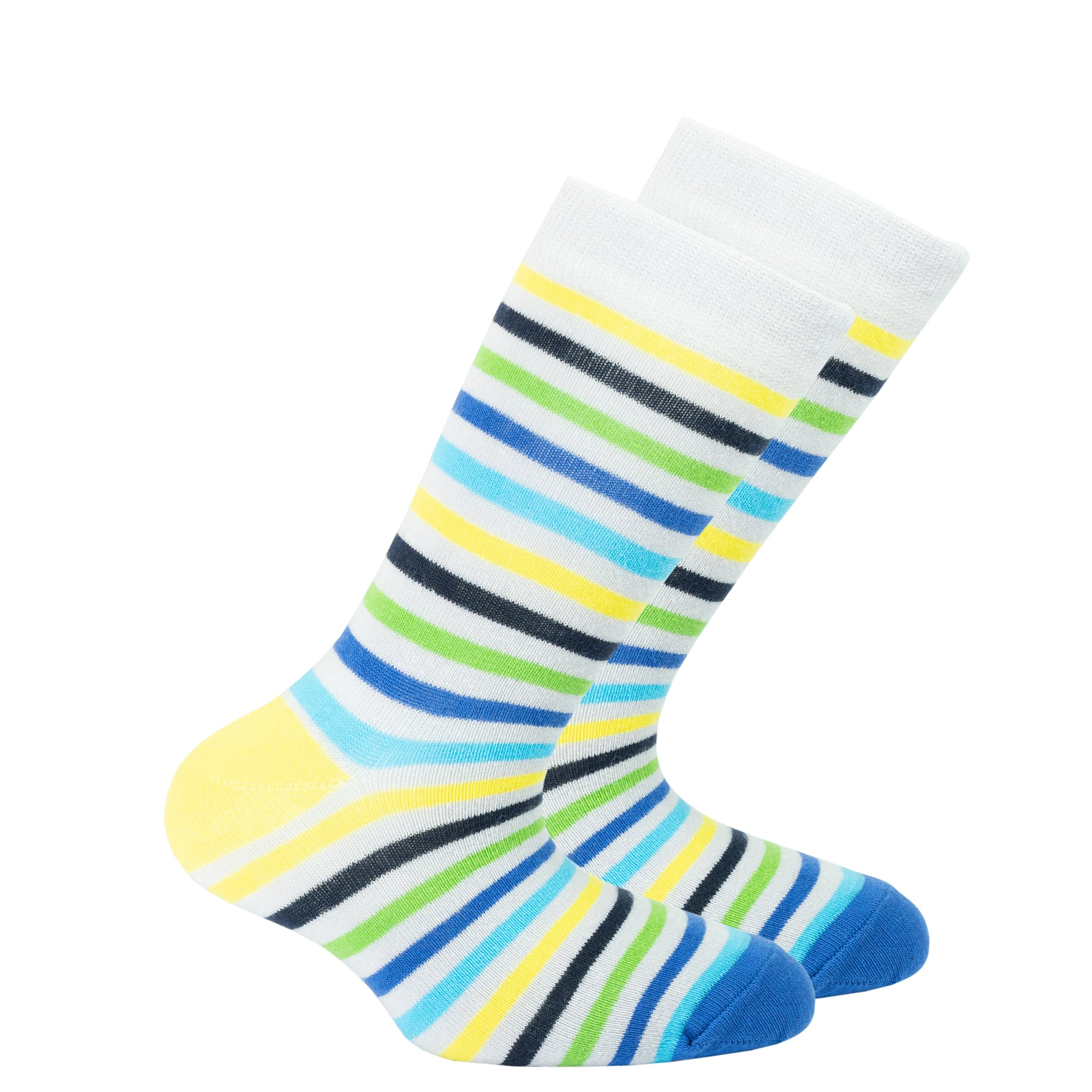 Kids Ash Stripe Socks