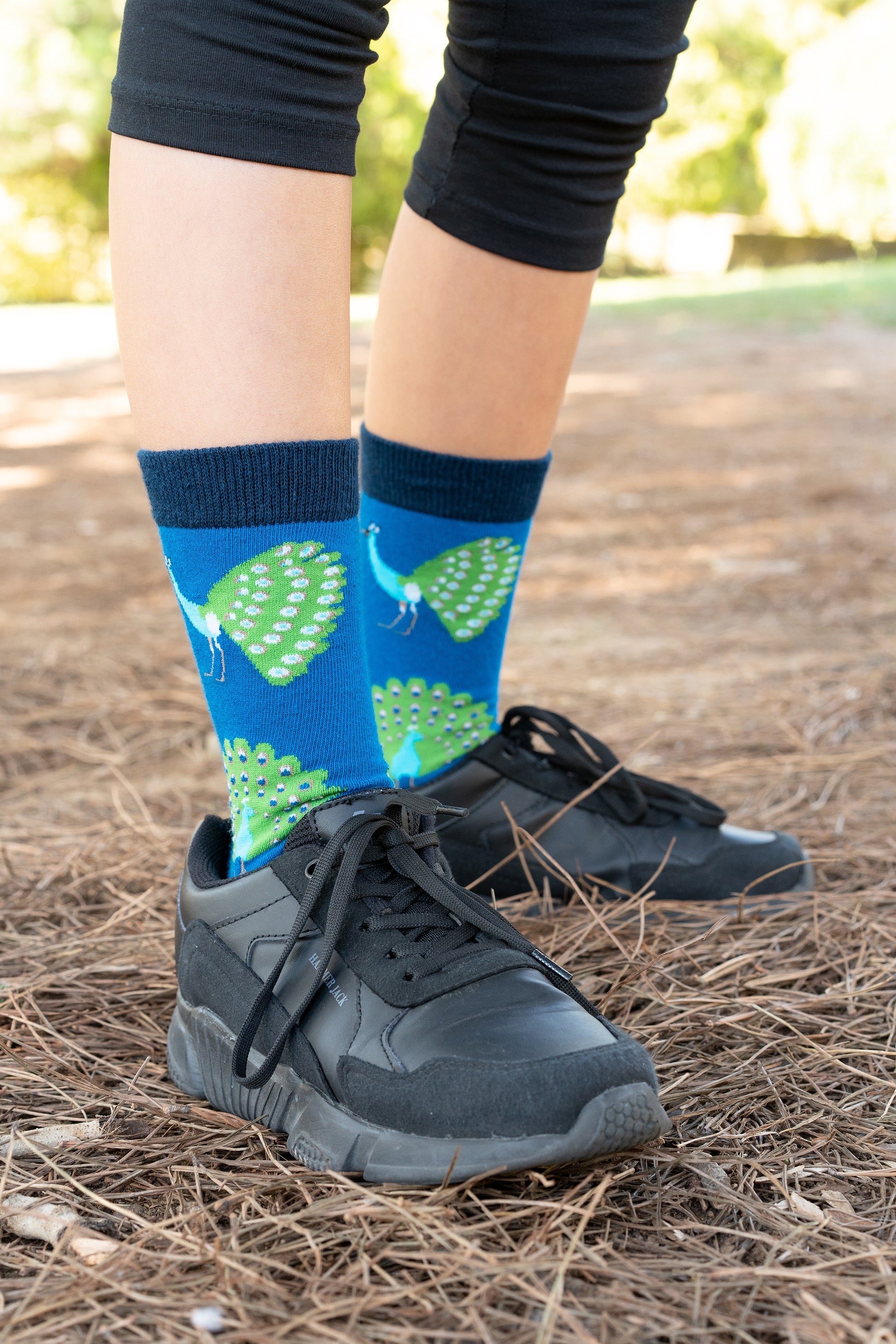Kids Peacock Socks