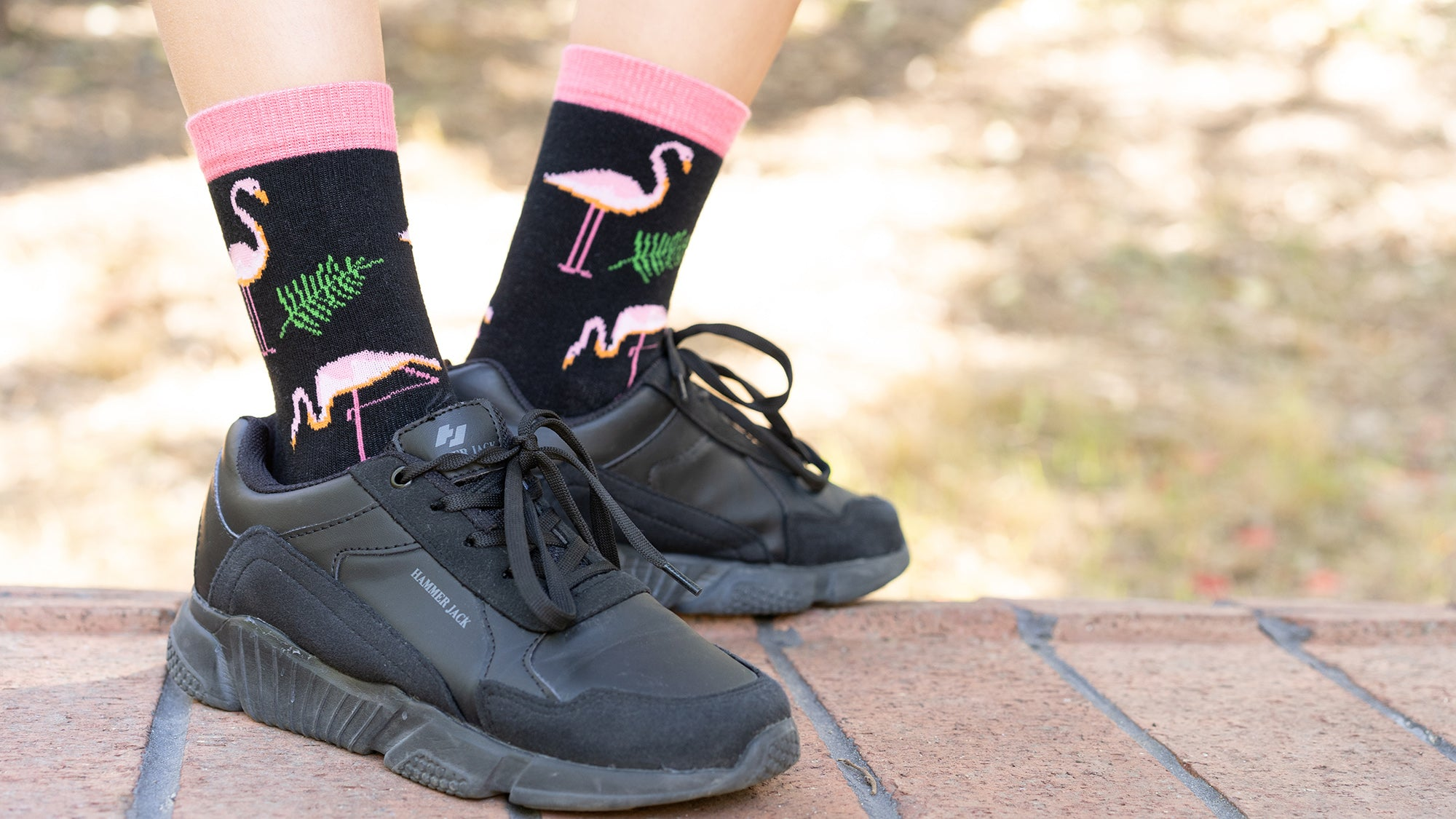 Kids Flamingo Socks