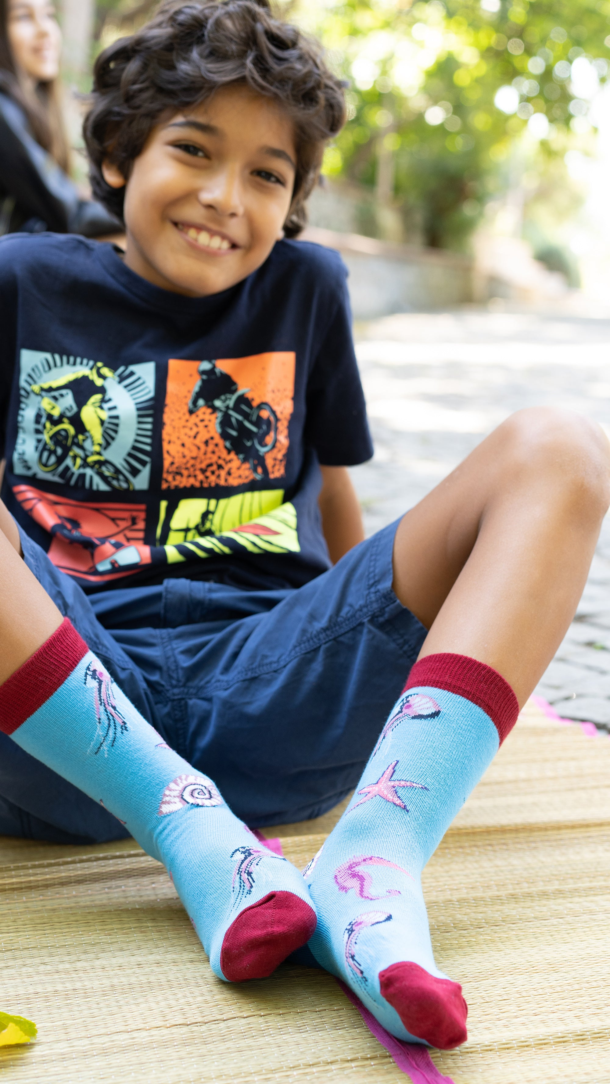 Kids Wild Animals Socks 5-Pack