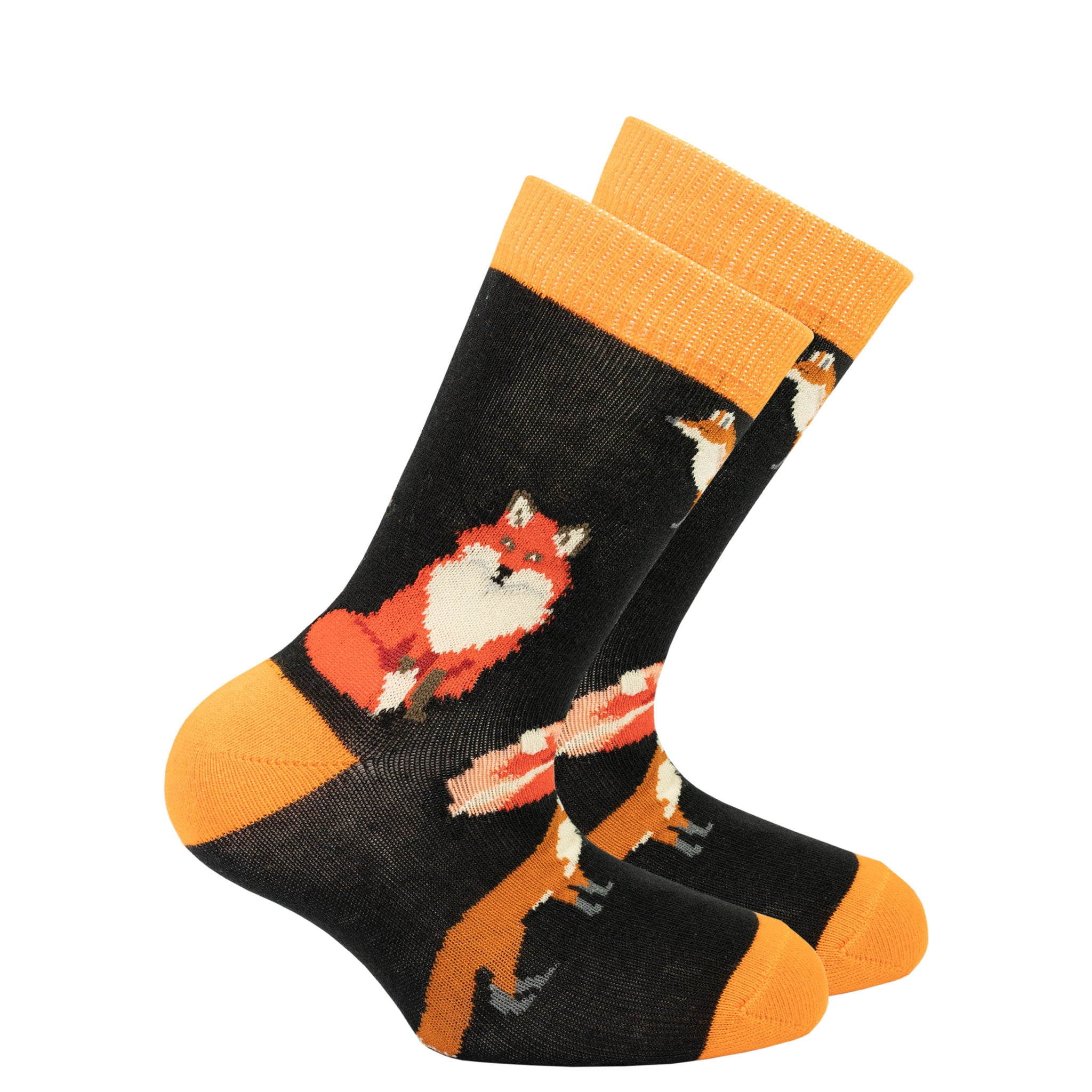 Kids Sneaky Fox Socks