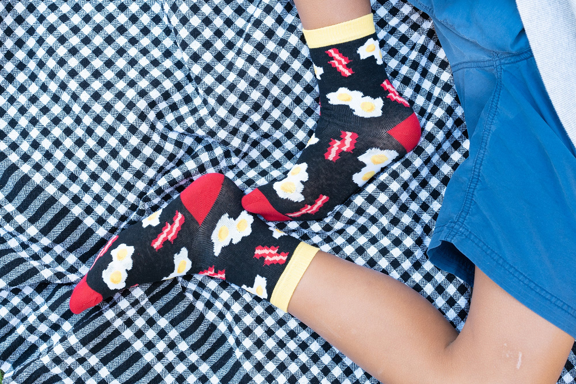 Kids Bacon & Eggs Socks