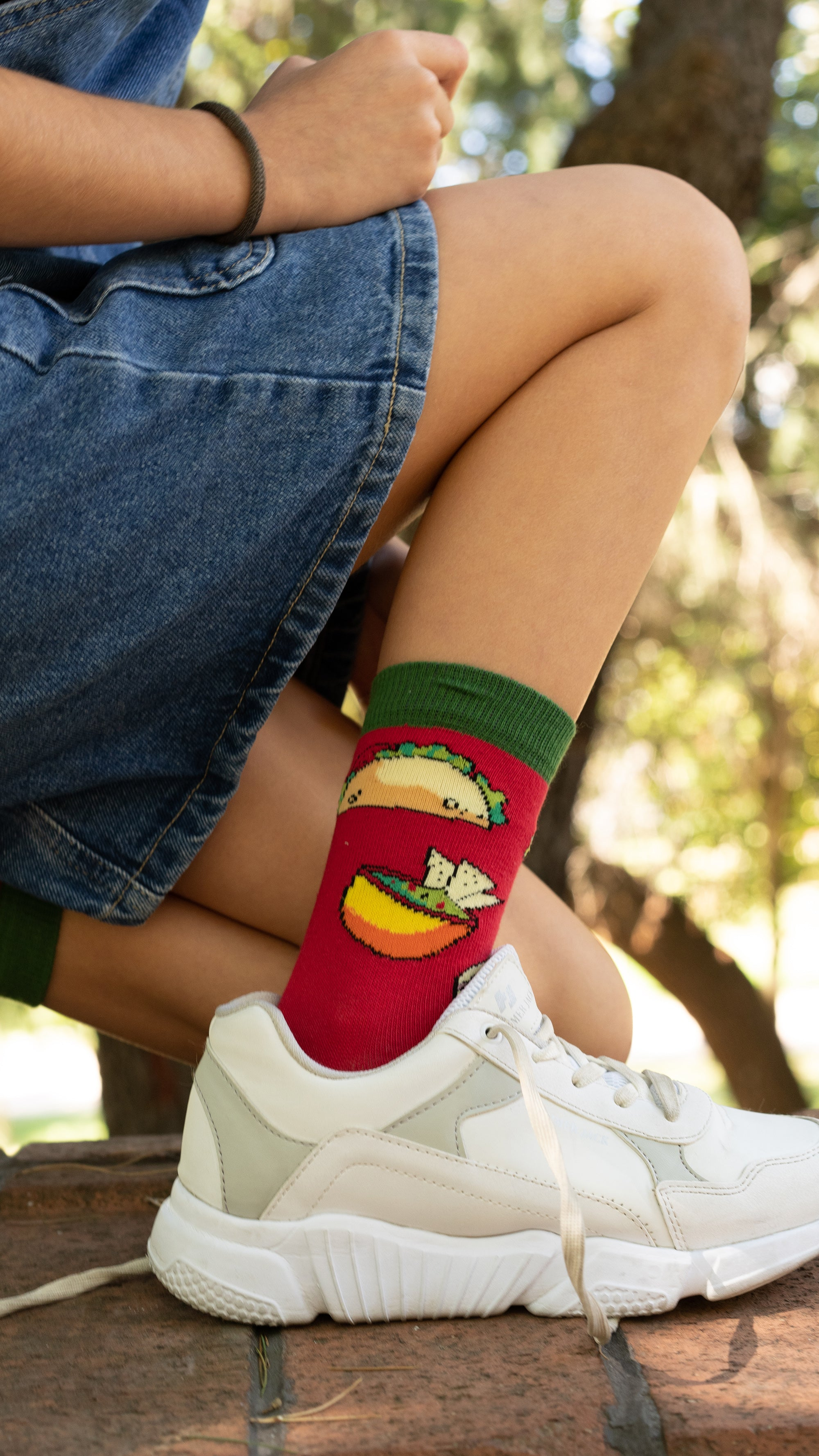 Kids Chili Tacos Socks