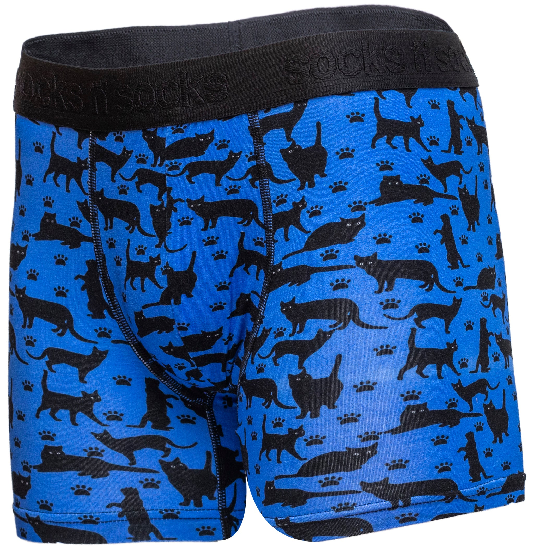 Men's Shadow Cat Boxer Brief