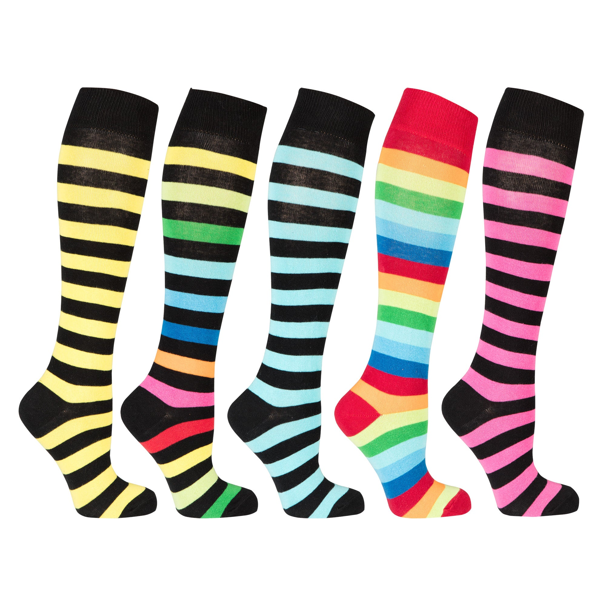 Exclusive Stripe Set Socks