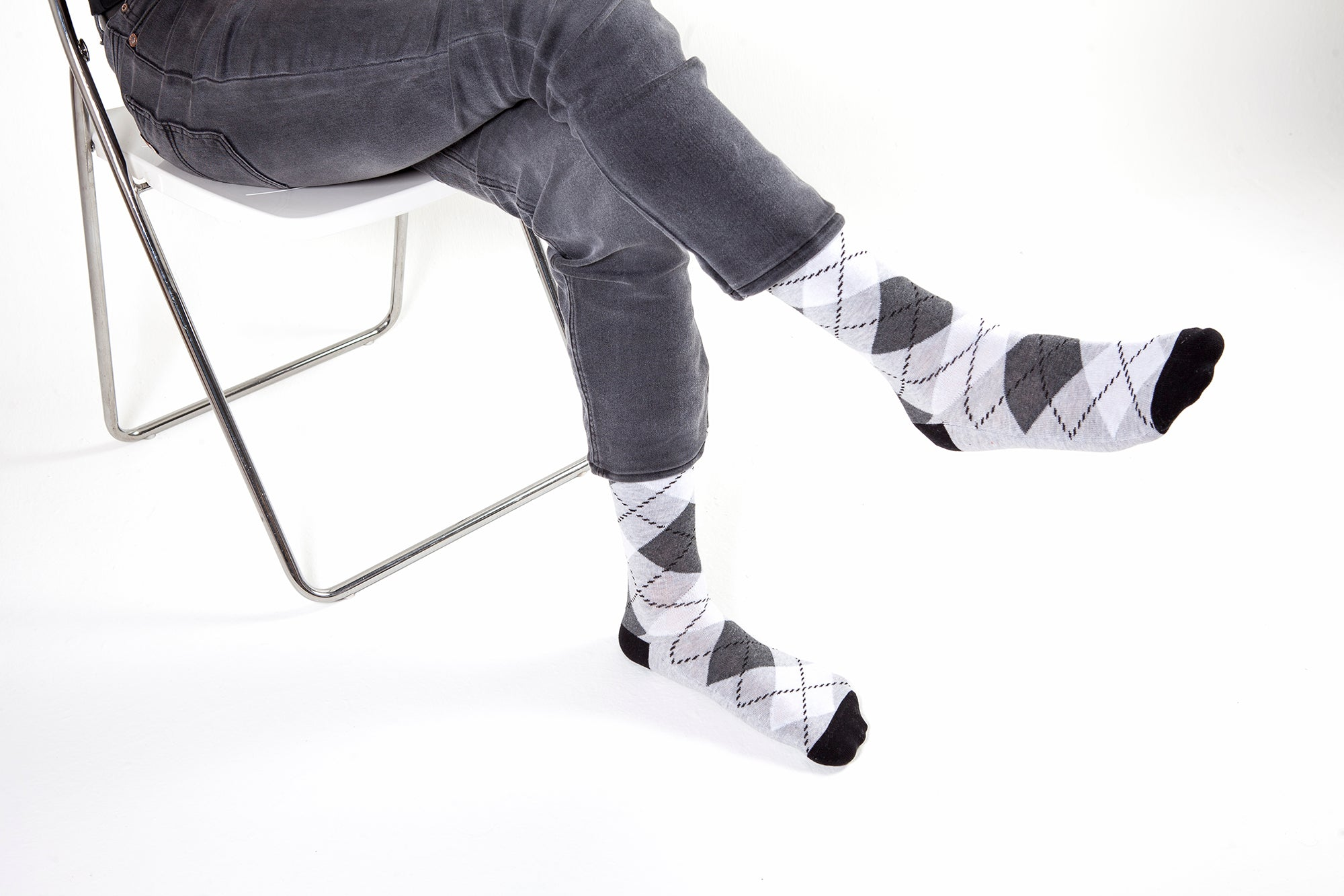 Men's Cloud Argyle Socks