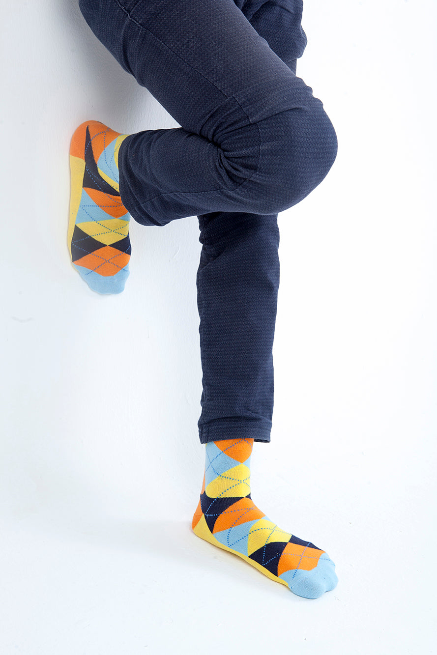 Men's Funky Mix Set Socks