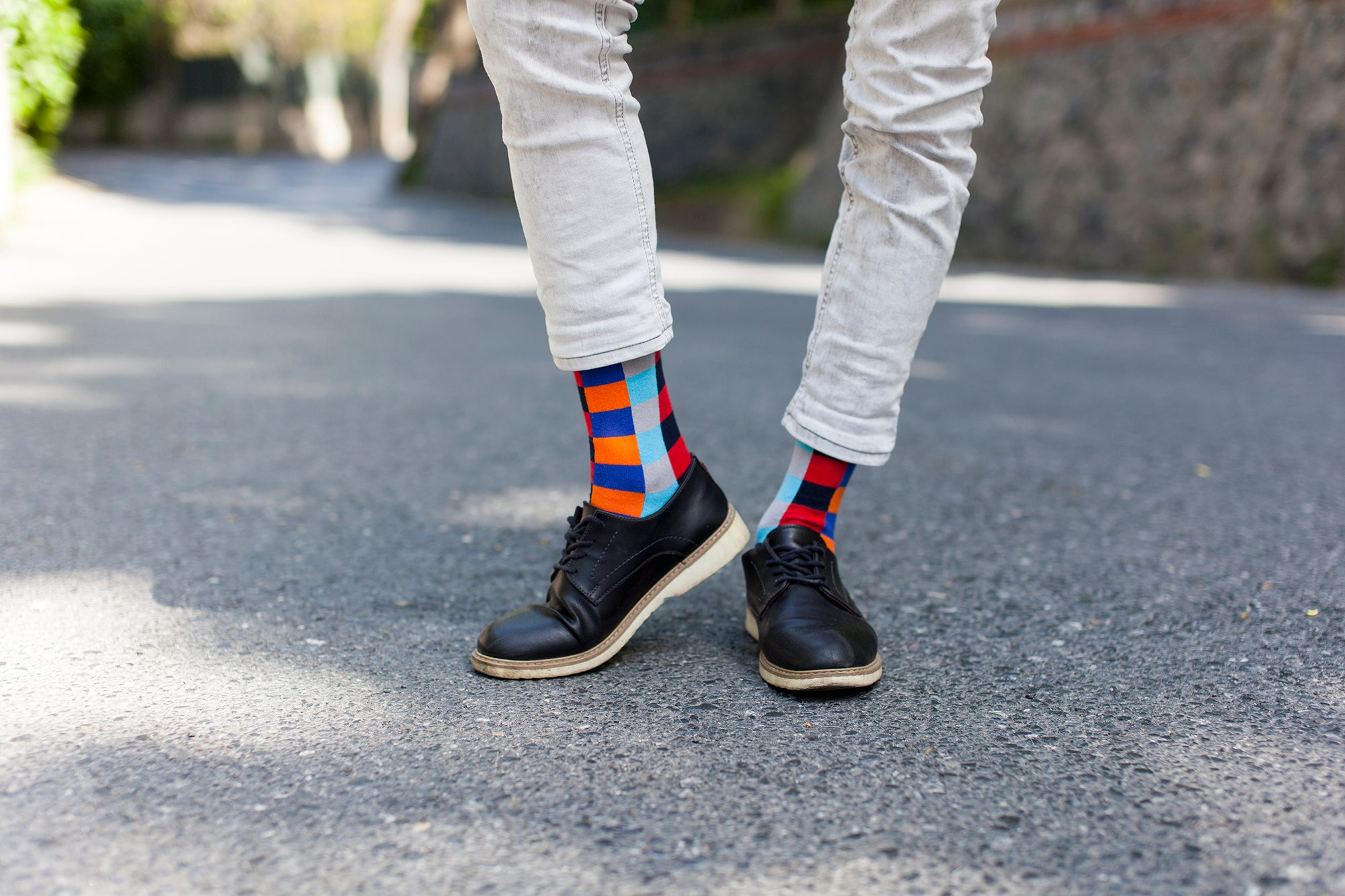 Men's Tomato Square Socks