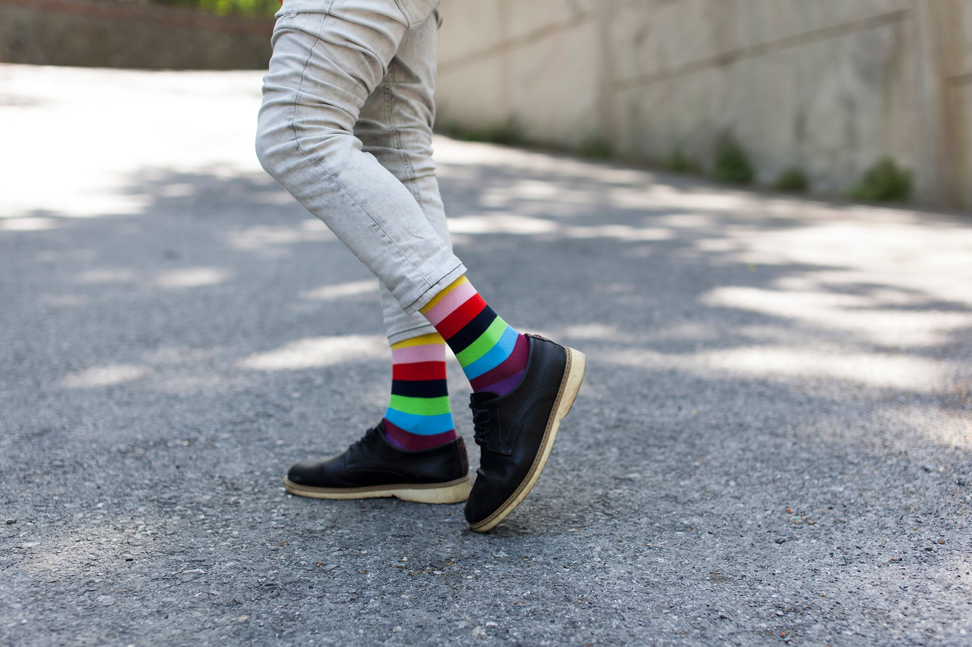 Men's Urban Stripe Socks