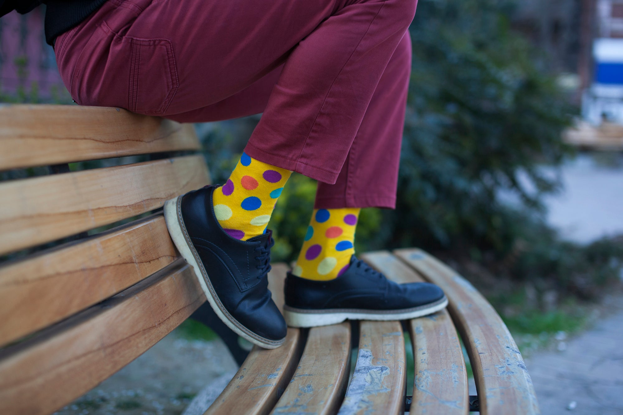 Men's Big Dots Socks