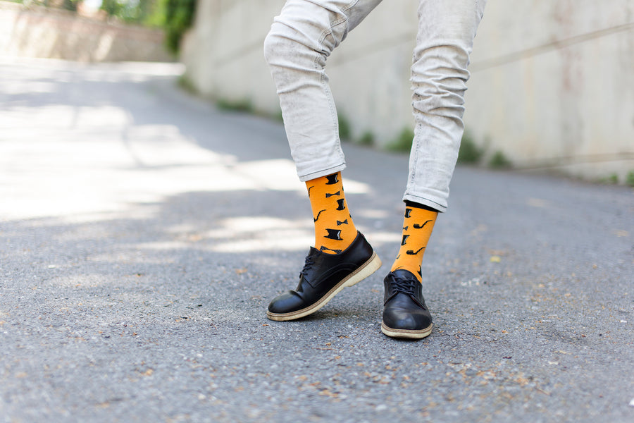 Men's Retro Hipster Socks
